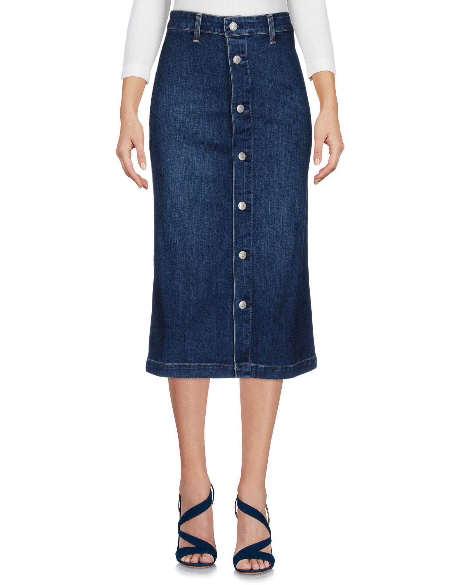 ALEXACHUNG for AG Jeans Джинсовая юбка ag jeans coated skinny jeans