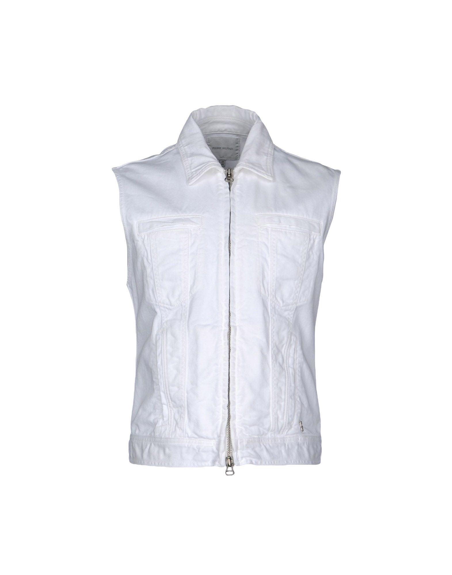PIERRE BALMAIN Джинсовая верхняя одежда верхняя одежда