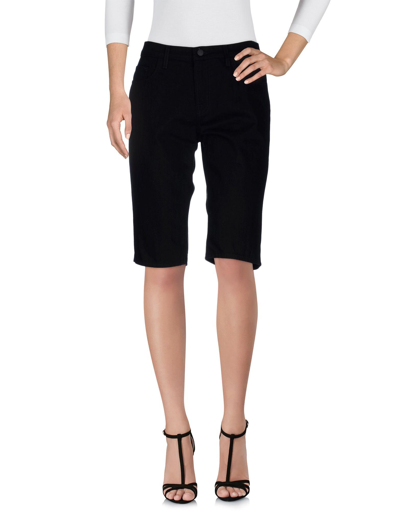SIMONE ROCHA X J BRAND Denim Shorts in Black