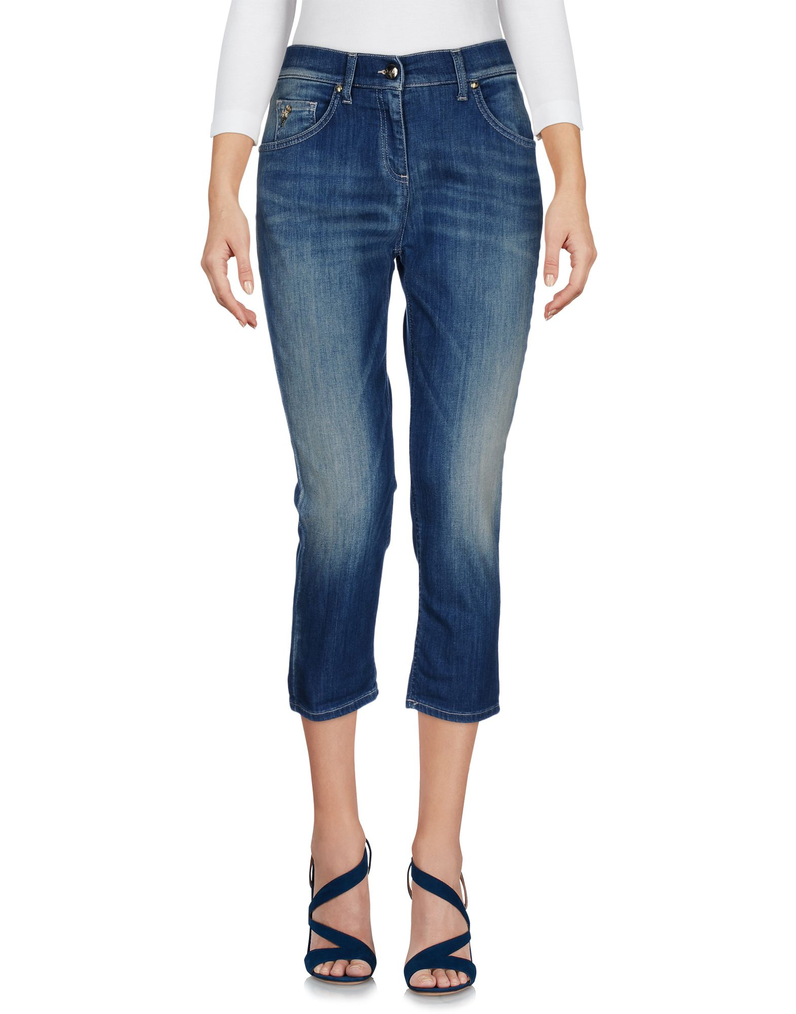 BETTY BLUE Джинсовые брюки-капри betty blue брюки капри
