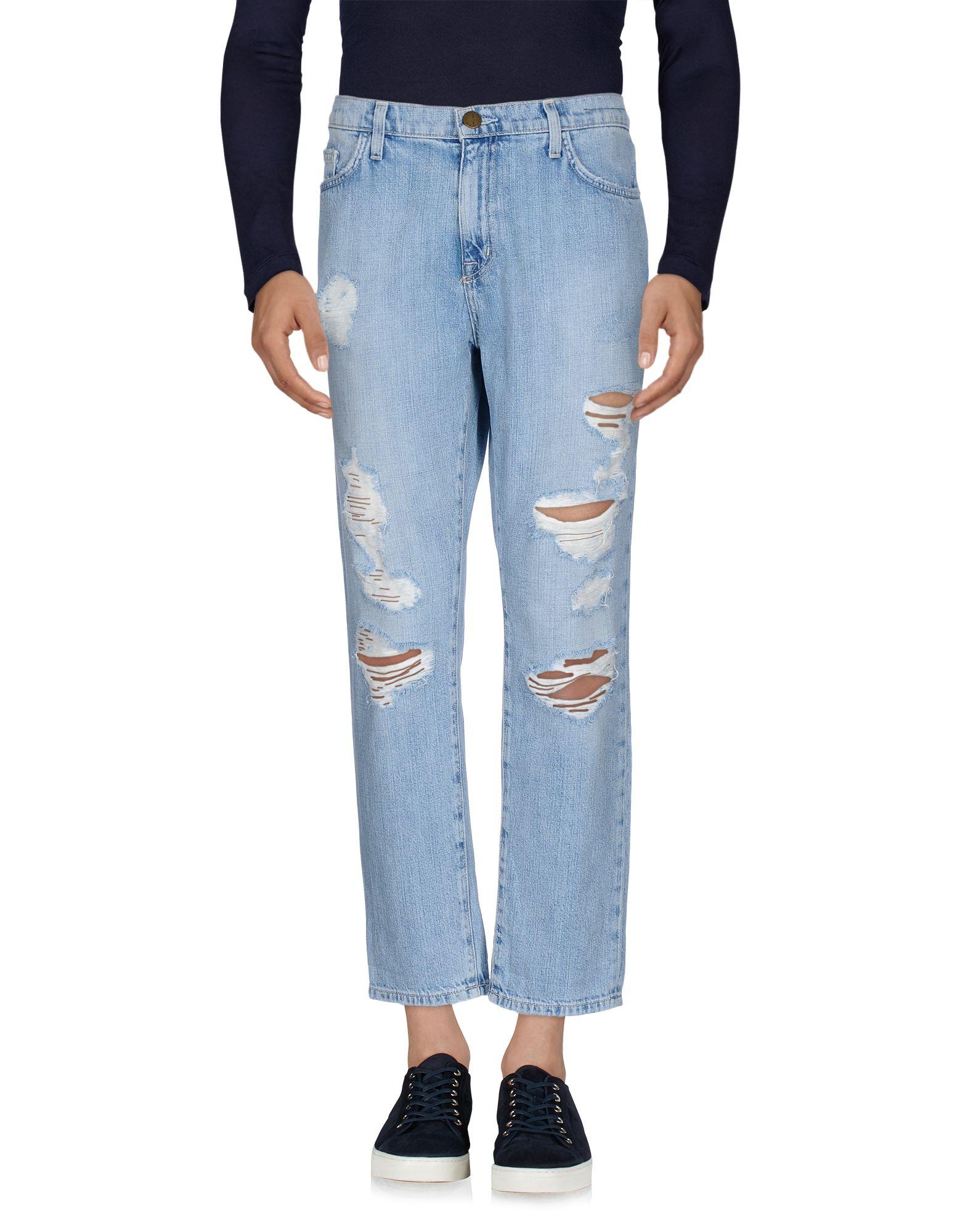 《セール開催中》CURRENT/ELLIOTT メンズ ジーンズ ブルー 31 100% コットン