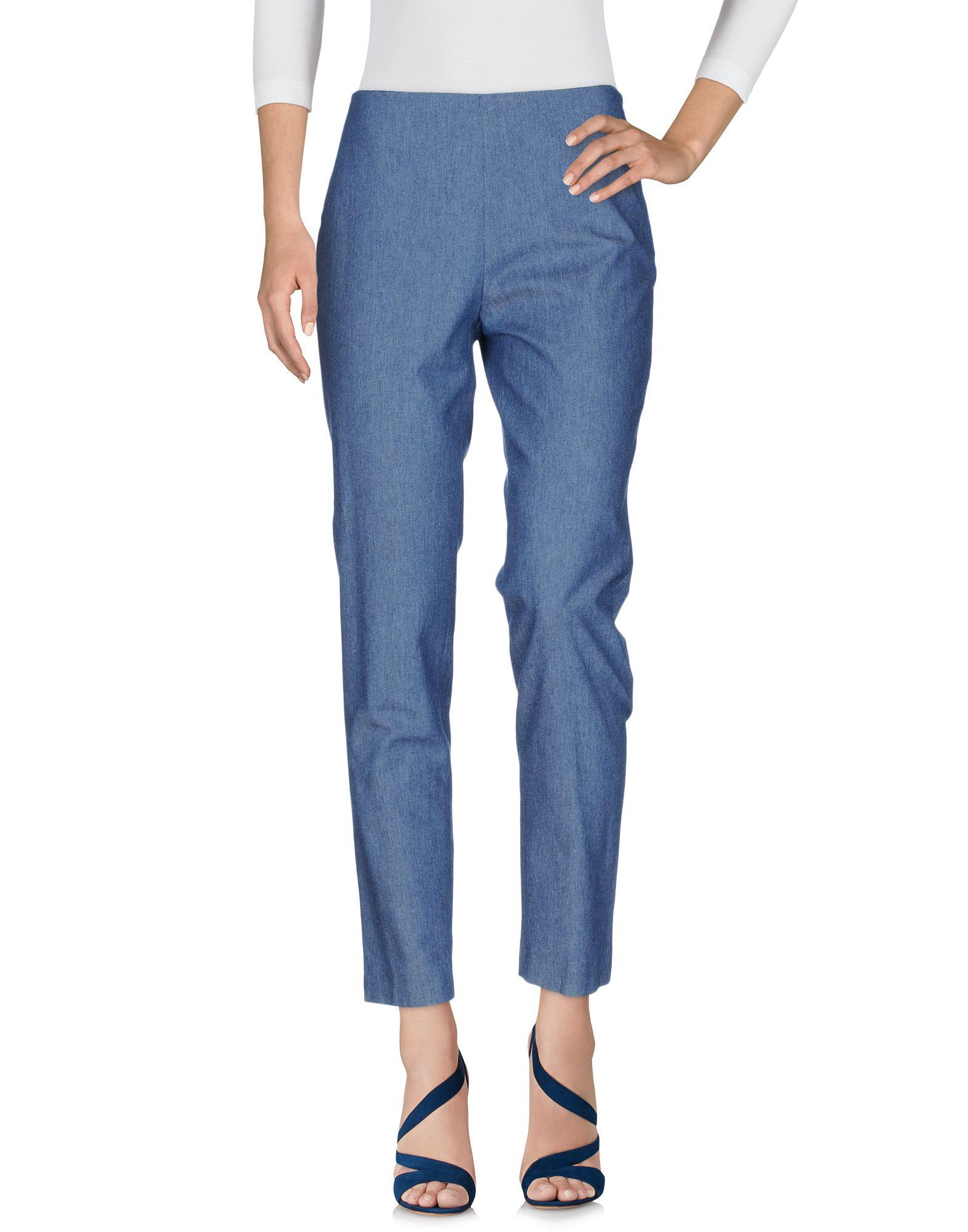 JIL SANDER NAVY Джинсовые брюки женские брюки лэйт светлый размер 50