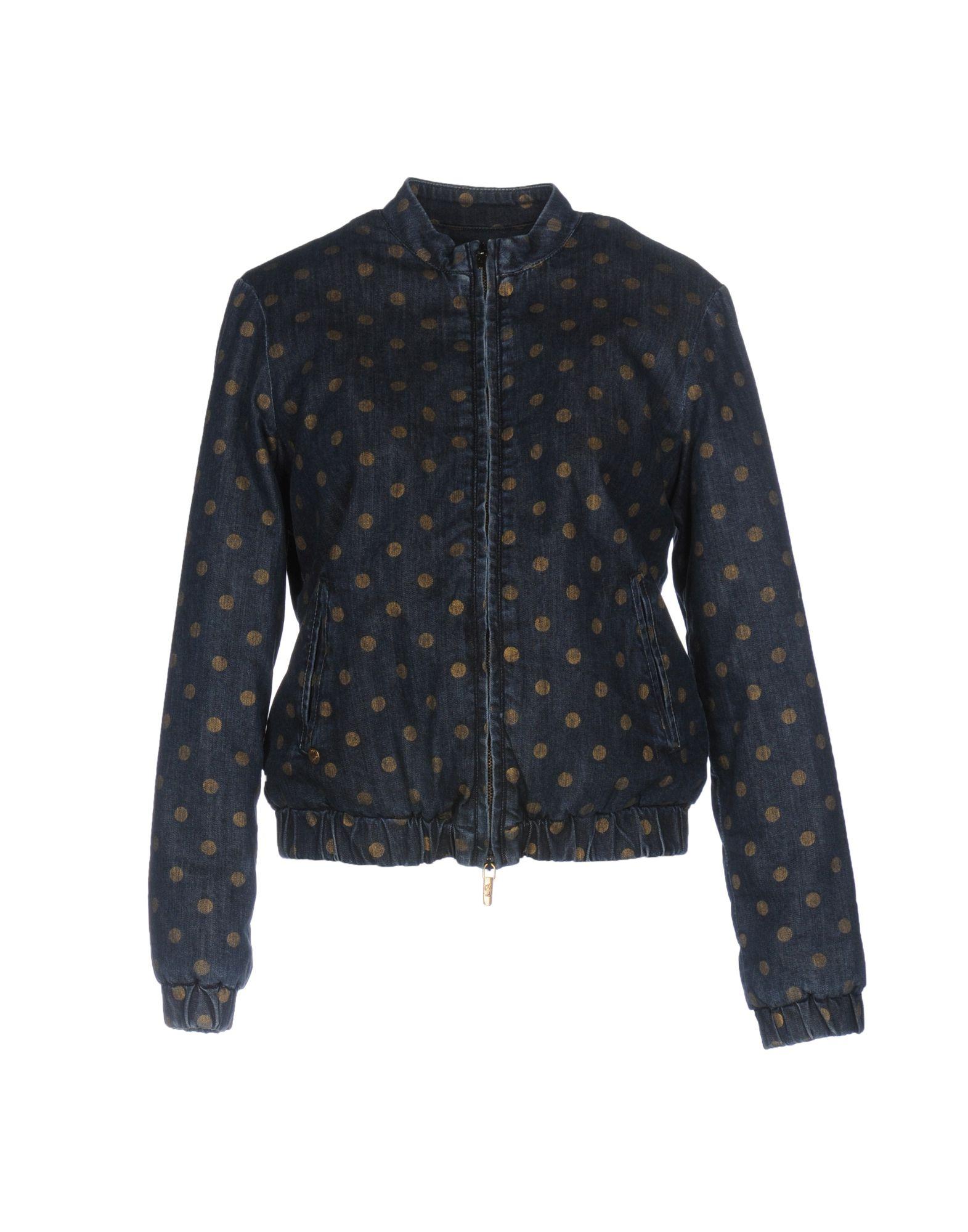 MANILA GRACE DENIM Джинсовая верхняя одежда цена 2017