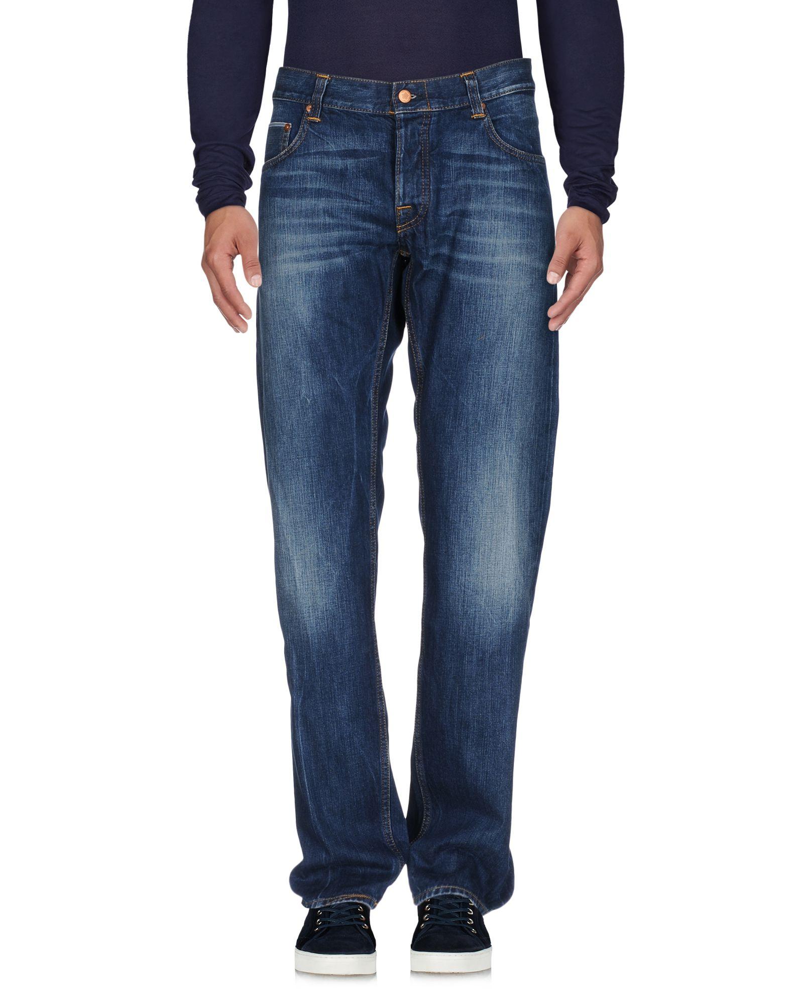 Фото CARE LABEL Джинсовые брюки. Купить с доставкой