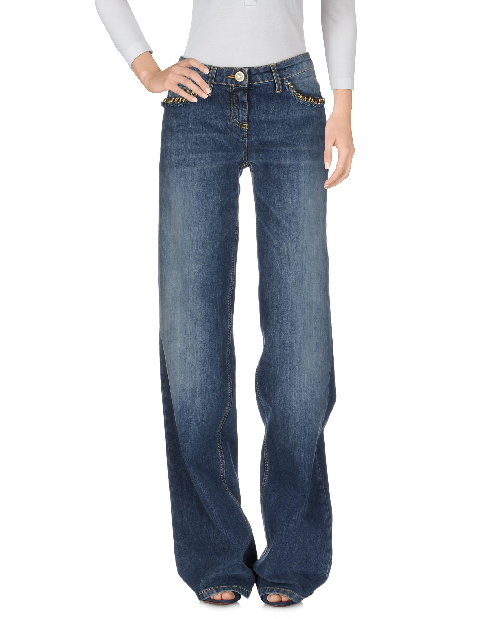 ELISABETTA FRANCHI JEANS Джинсовые брюки elisabetta franchi рубашка от elisabetta franchi 55248