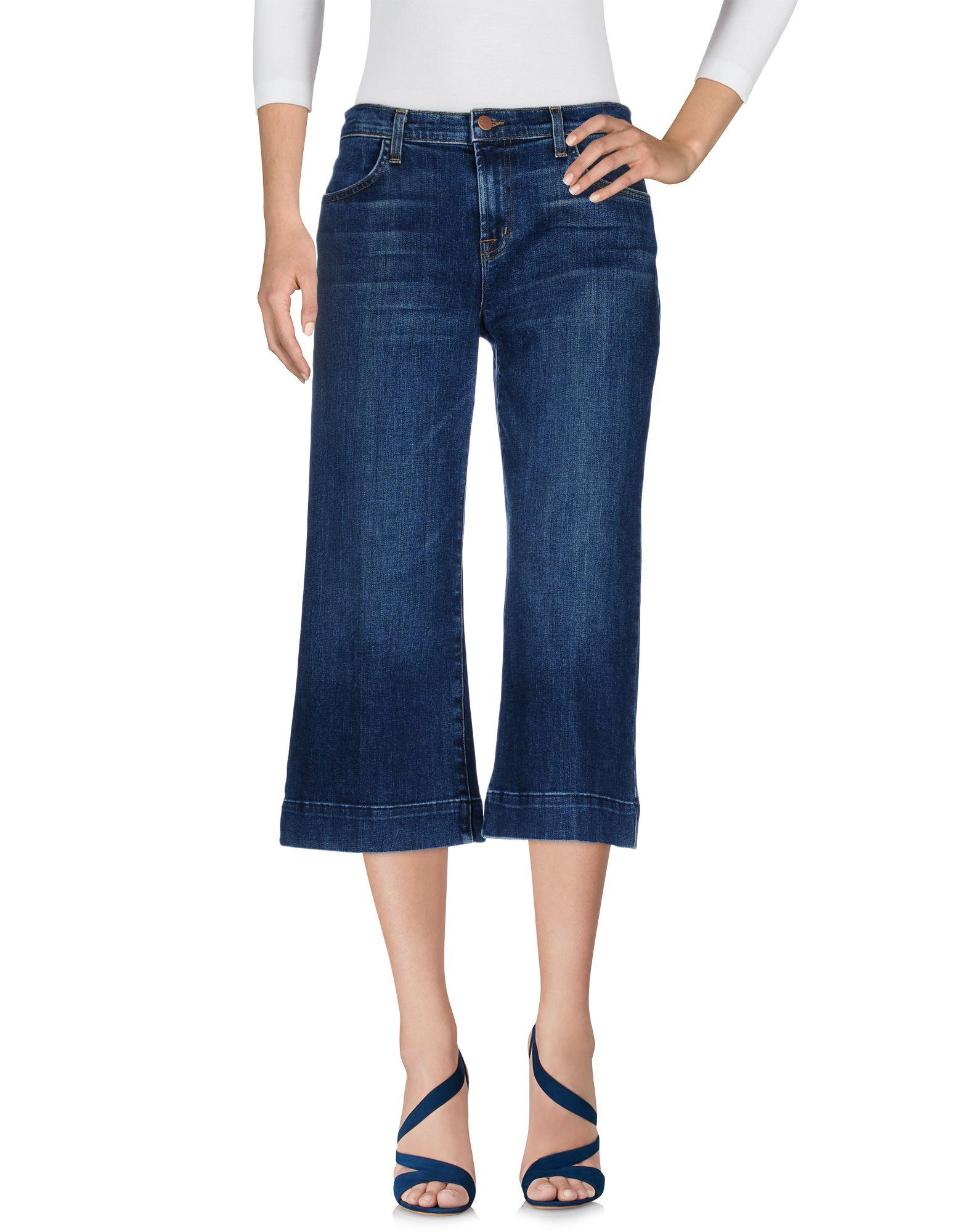 Фото J BRAND Джинсовые брюки-капри. Купить с доставкой