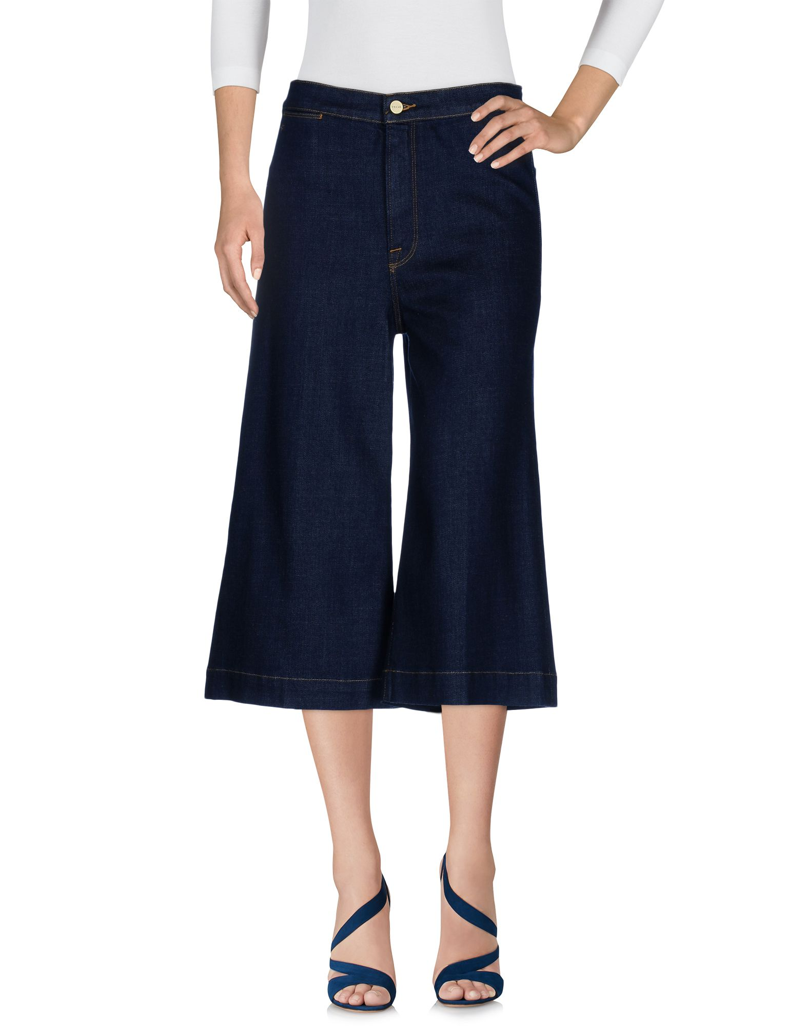 FRAME Джинсовые брюки-капри капри
