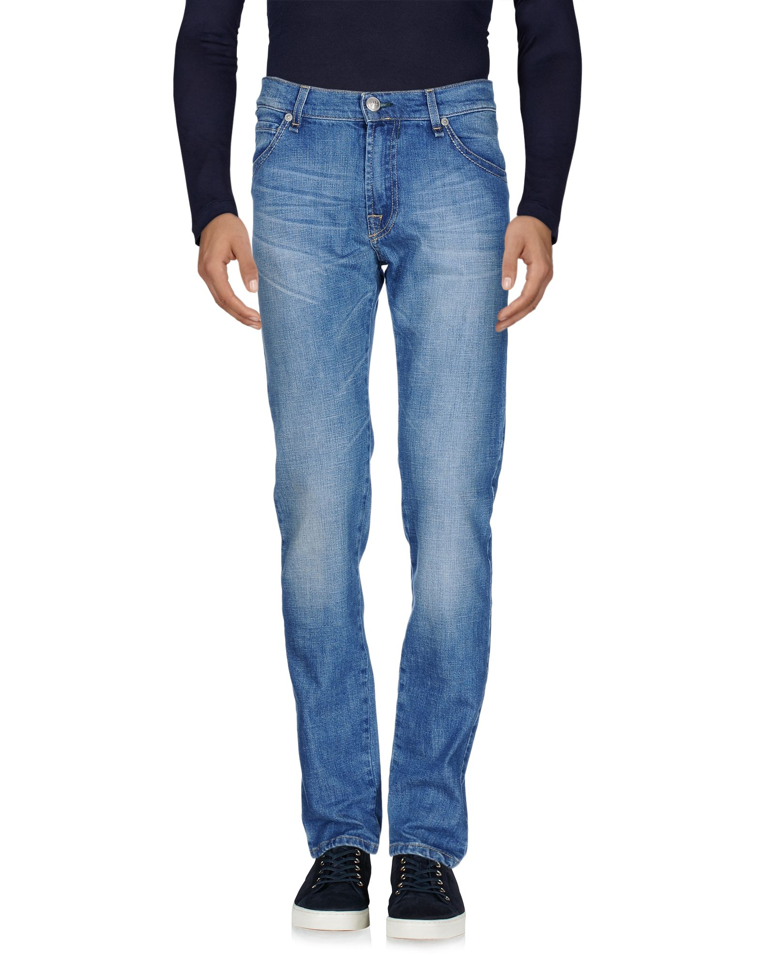 где купить BELFE Джинсовые брюки по лучшей цене