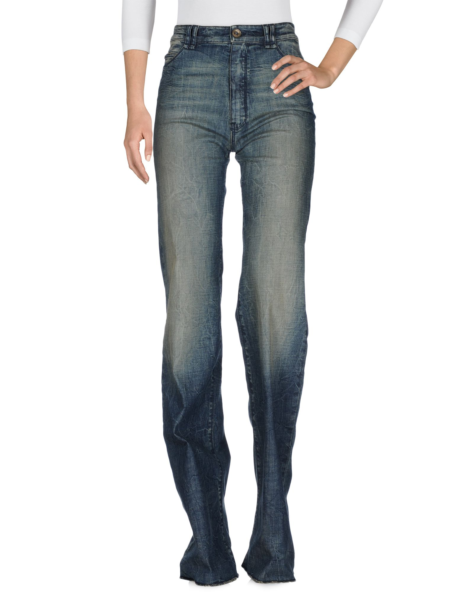 PLEIN SUD JEANIUS Джинсовые брюки цена 2017
