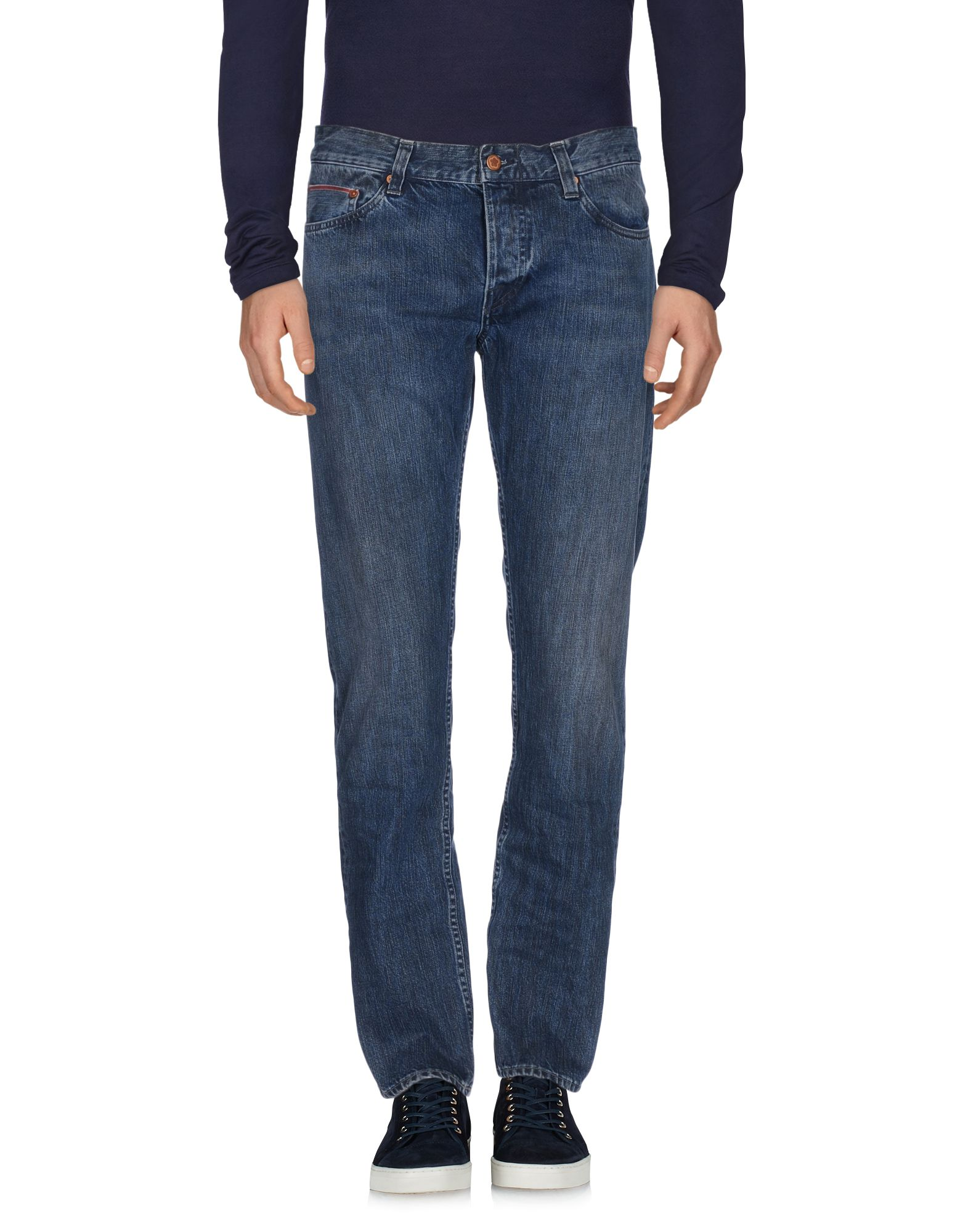 ФОТО care label джинсовые брюки