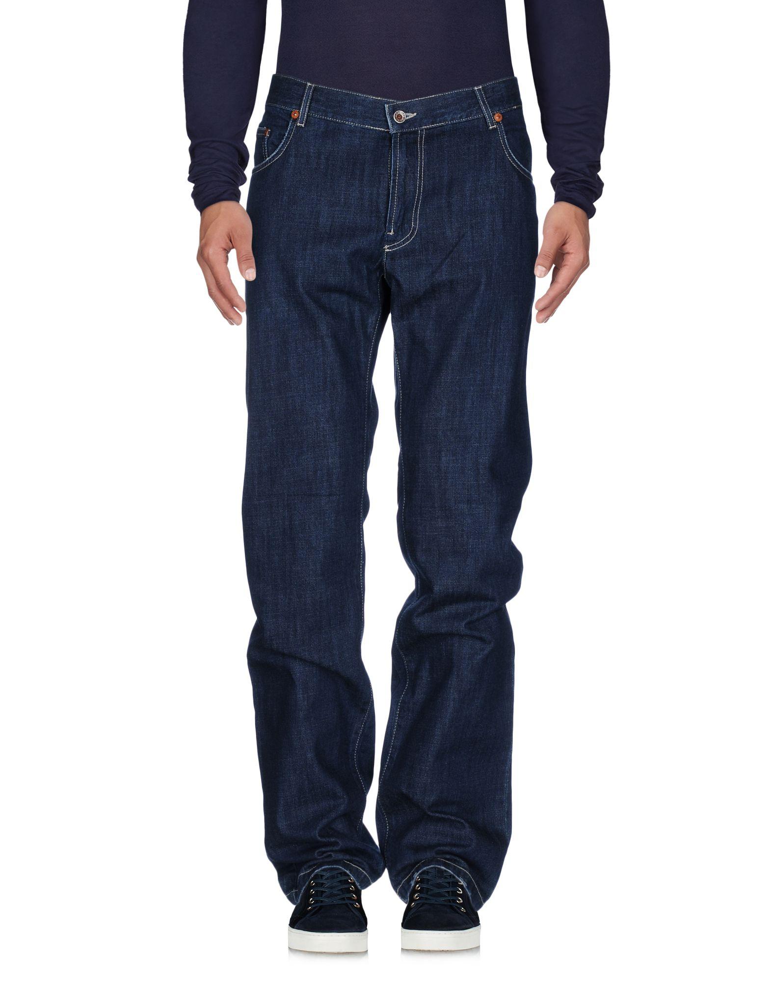 《送料無料》SEVENTY SERGIO TEGON メンズ ジーンズ ブルー 34 コットン 100%