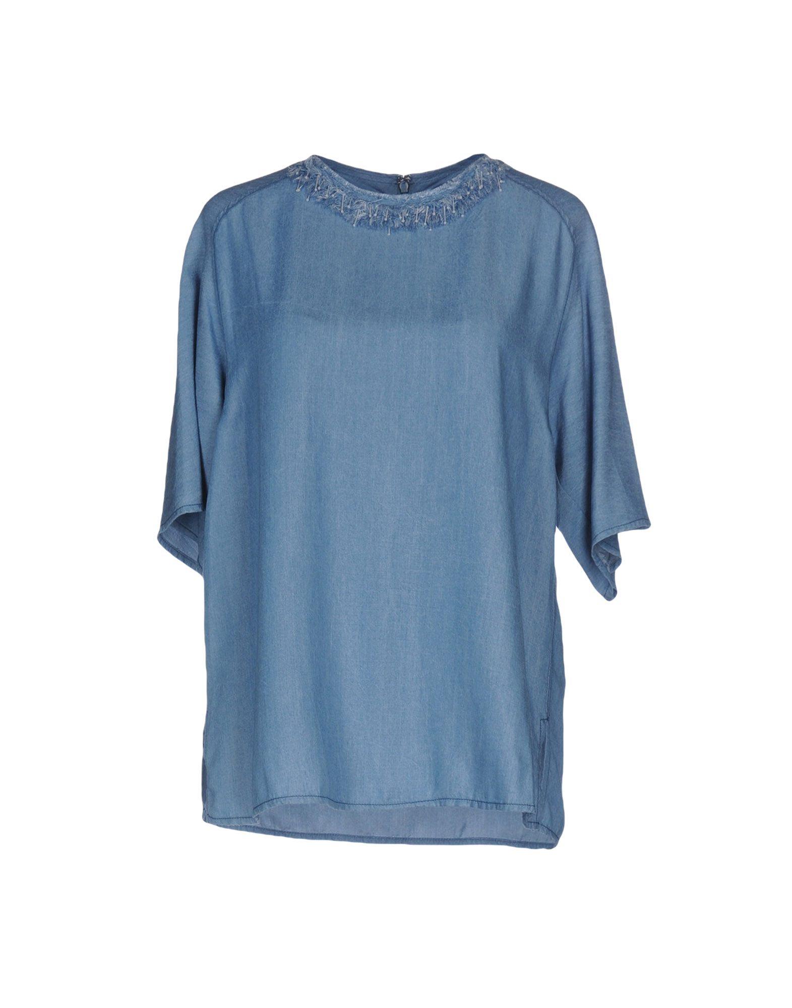 3.1 PHILLIP LIM Джинсовая рубашка 3 1 phillip lim платье рубашка с цветочной отделкой