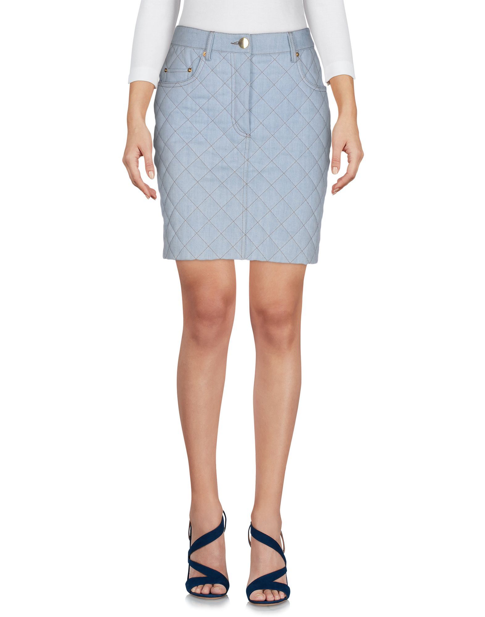 где купить MOSCHINO Джинсовая юбка по лучшей цене