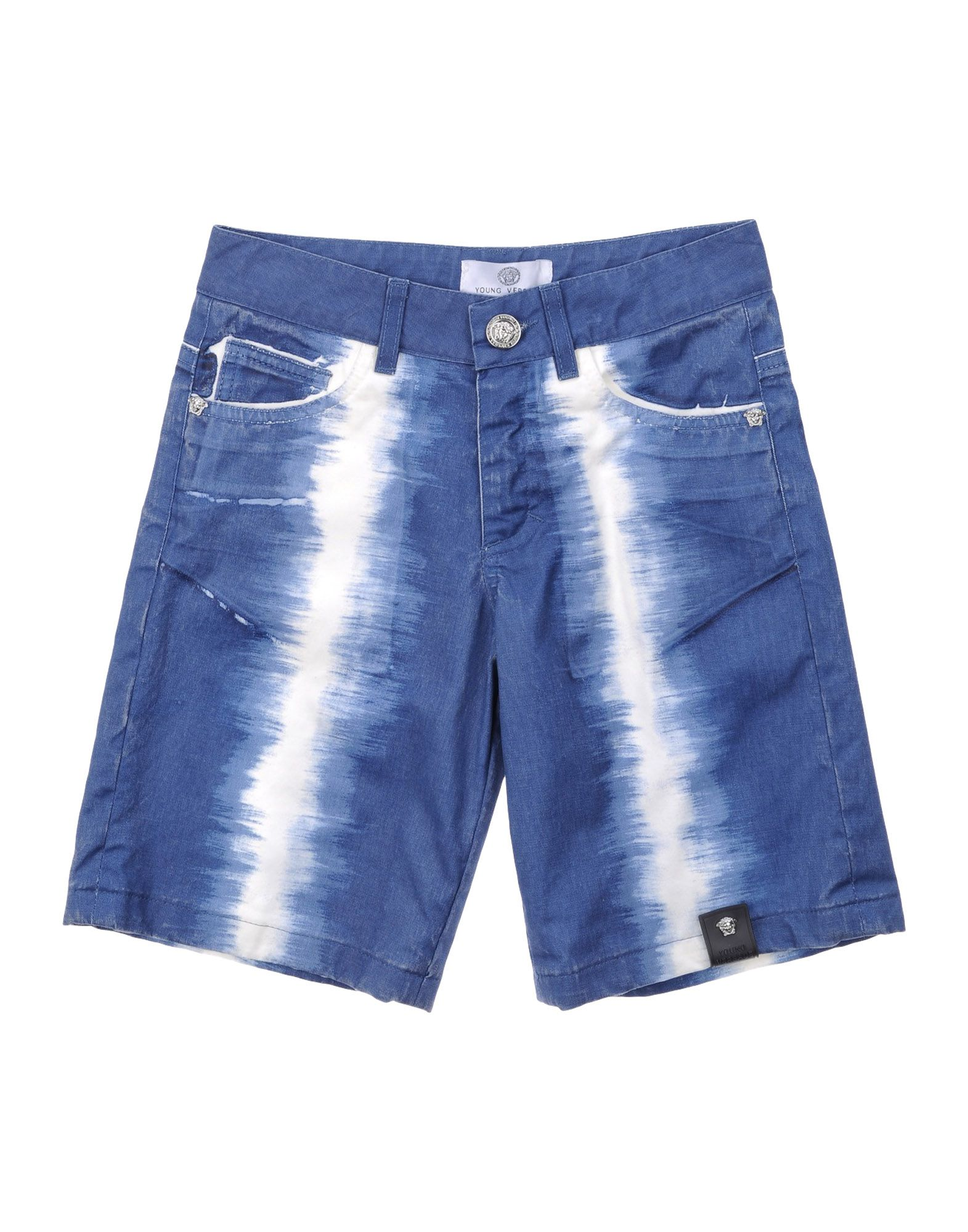 VERSACE YOUNG Denim shorts