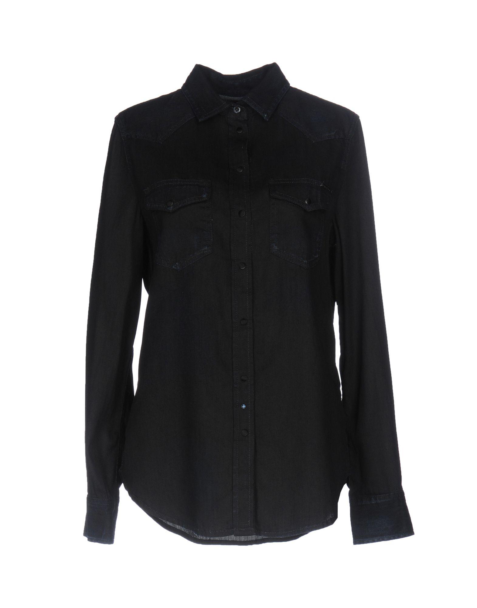 DIESEL Джинсовая рубашка рубашка джинсовая diesel diesel di303emrxt67