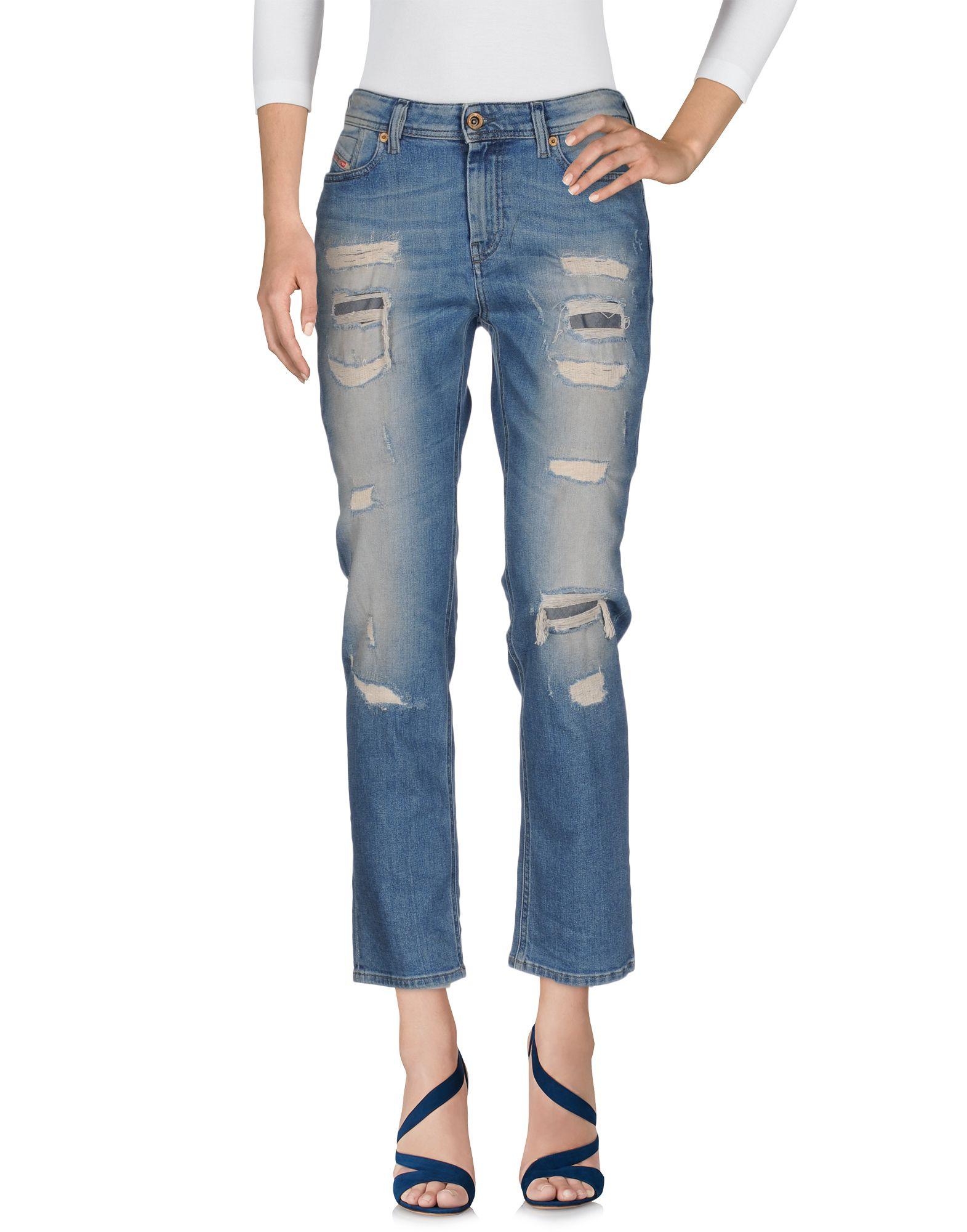 все цены на DIESEL Джинсовые брюки онлайн