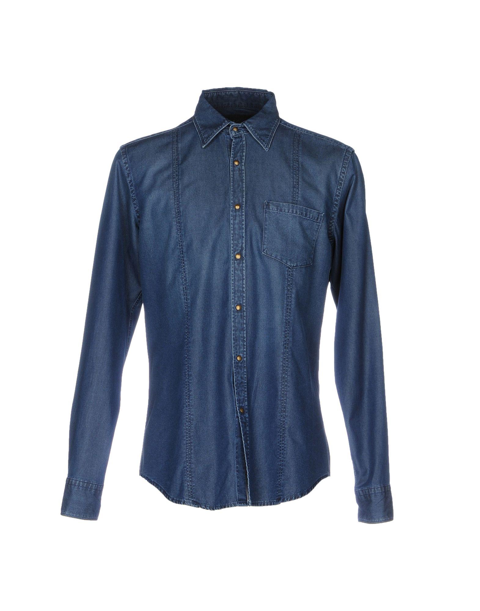 NOHOW X MESSAGERIE Джинсовая рубашка цена