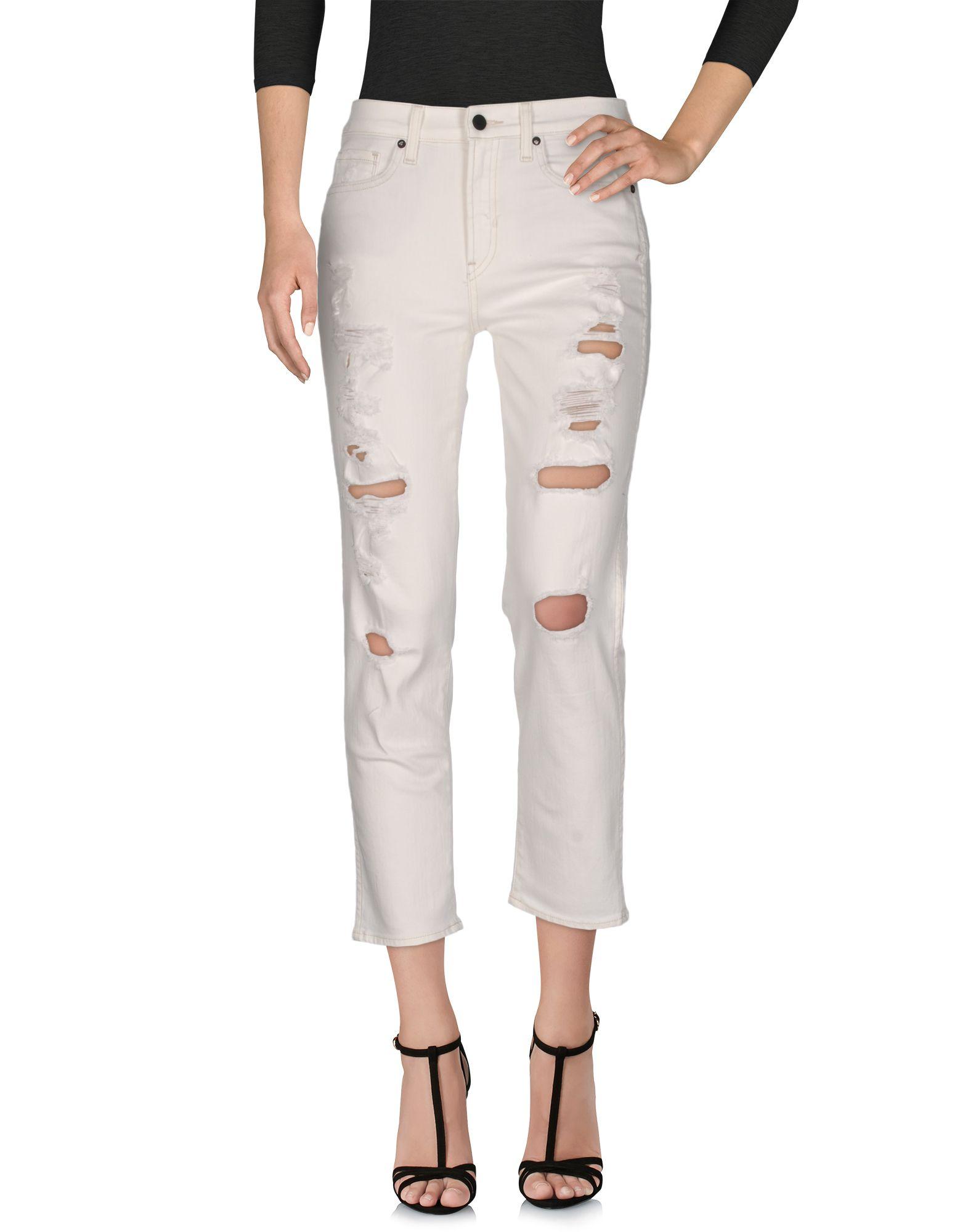 GENETIC DENIM Denim Pants in White