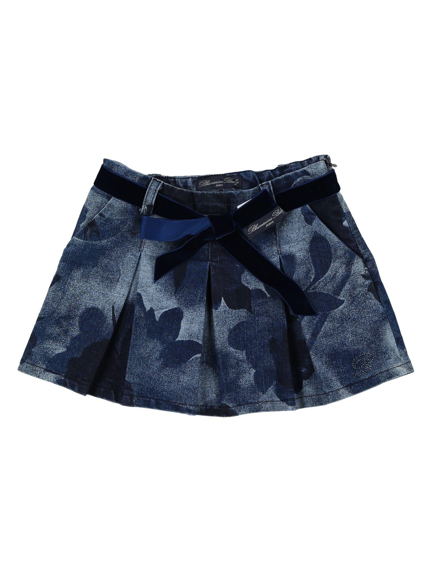 MISS BLUMARINE Джинсовая юбка miss blumarine ремень