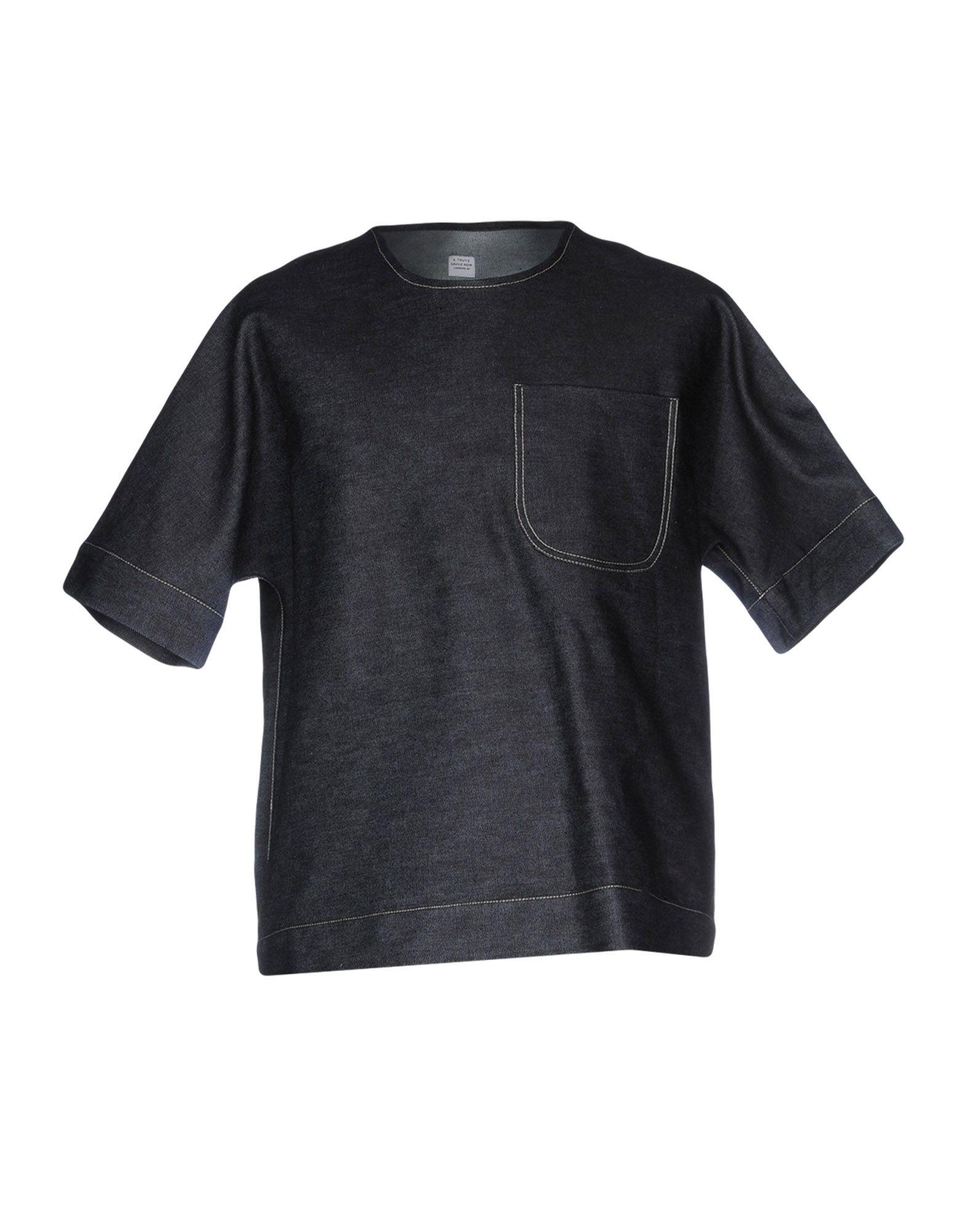 E. TAUTZ Джинсовая рубашка e tautz джинсовые брюки