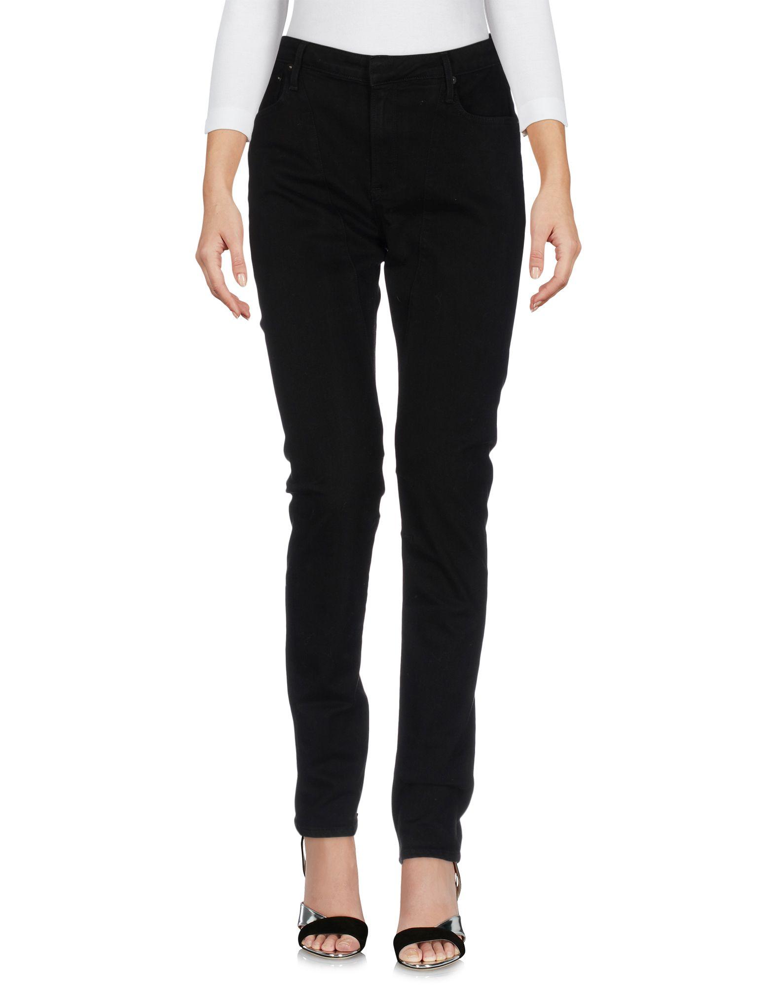 HELMUT LANG Джинсовые брюки helmut lang футболка с длинными рукавами и накладками на локтях