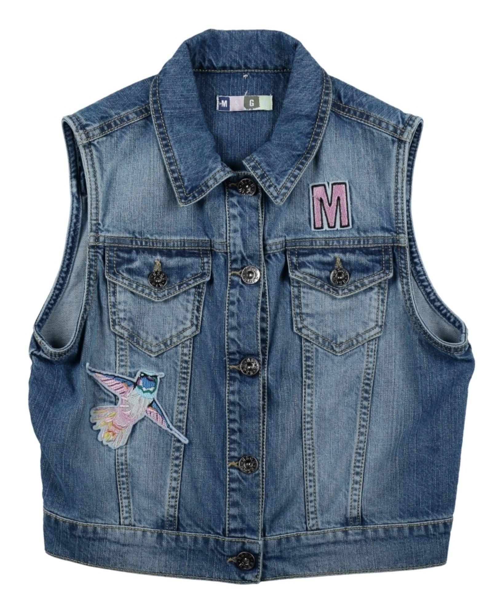 MSGM Джинсовая верхняя одежда msgm одежда