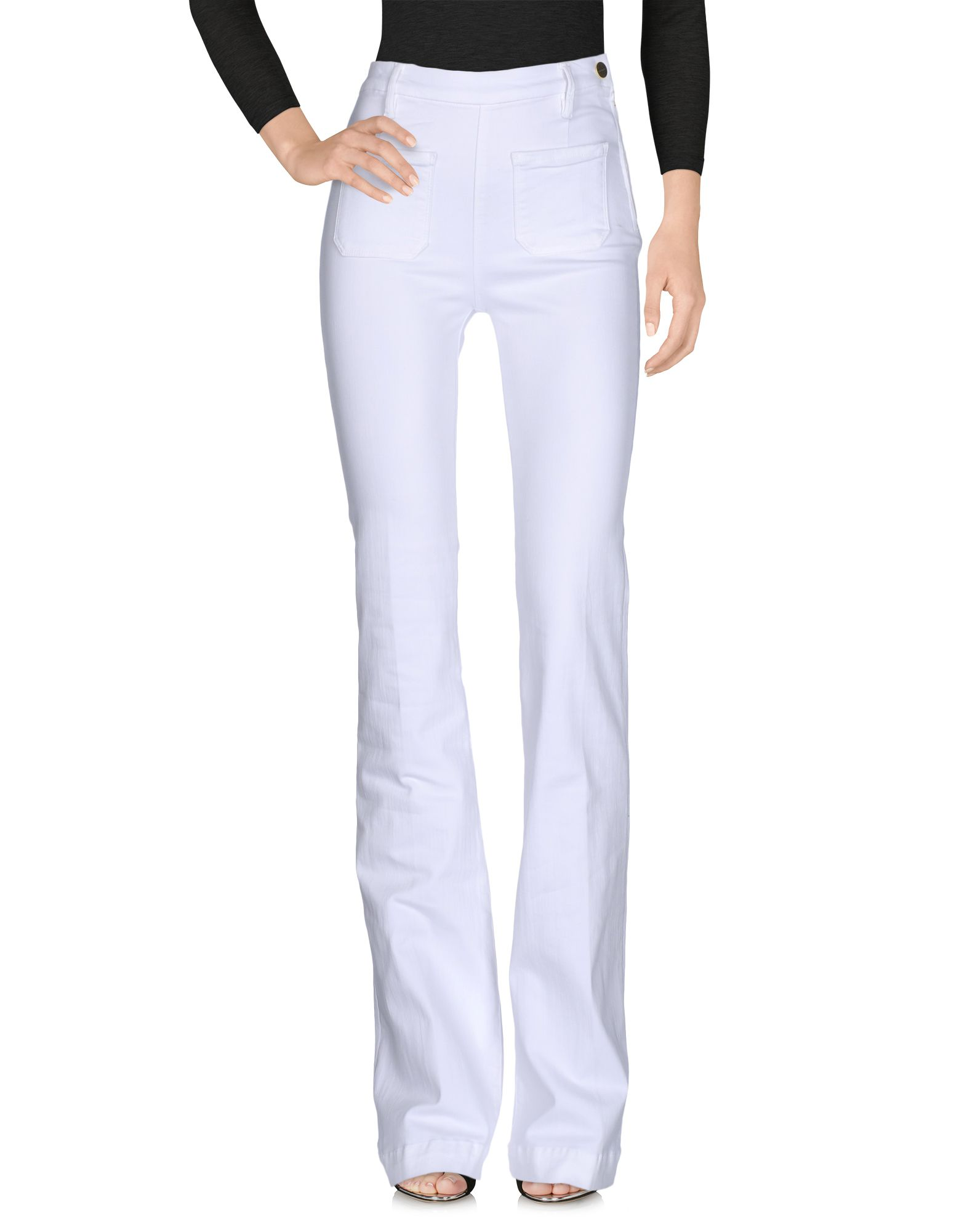 FRAME Джинсовые брюки frame джинсовые брюки