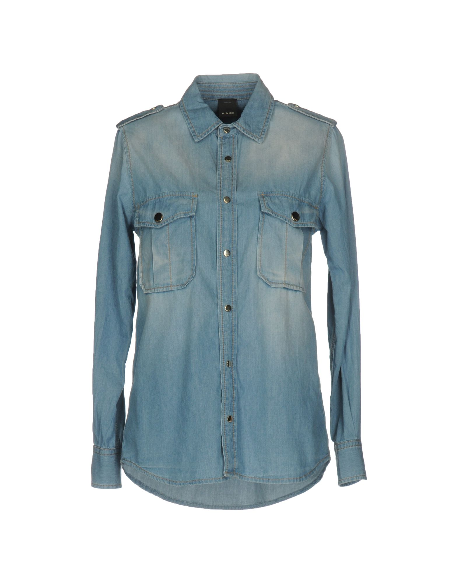 где купить PINKO Джинсовая рубашка по лучшей цене
