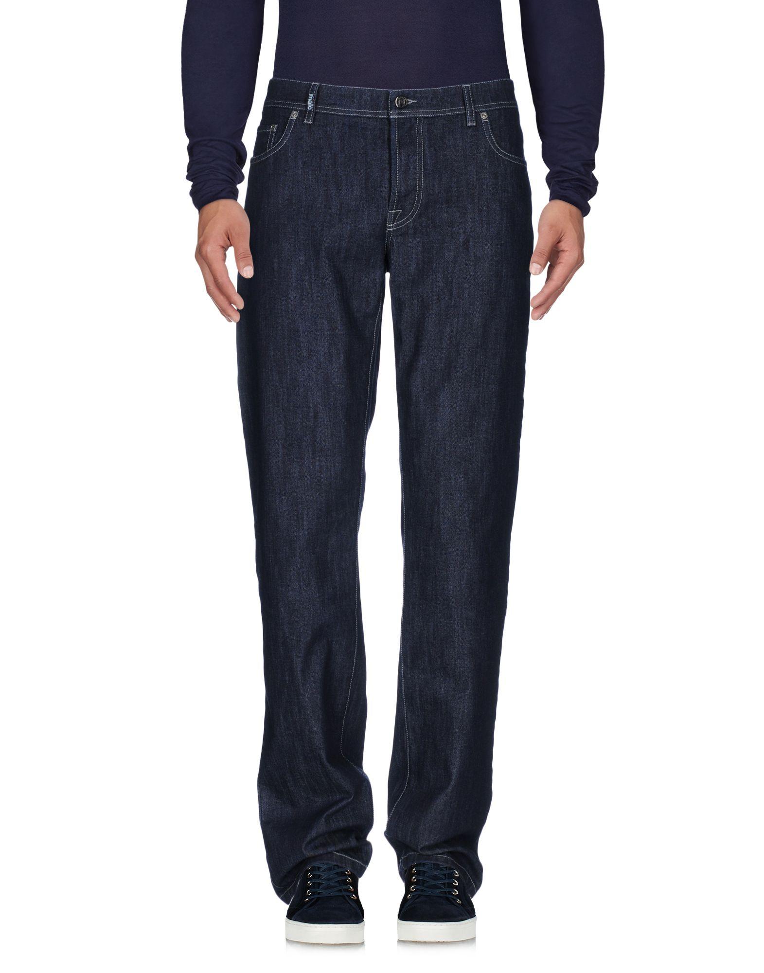 MALO Джинсовые брюки цена 2017