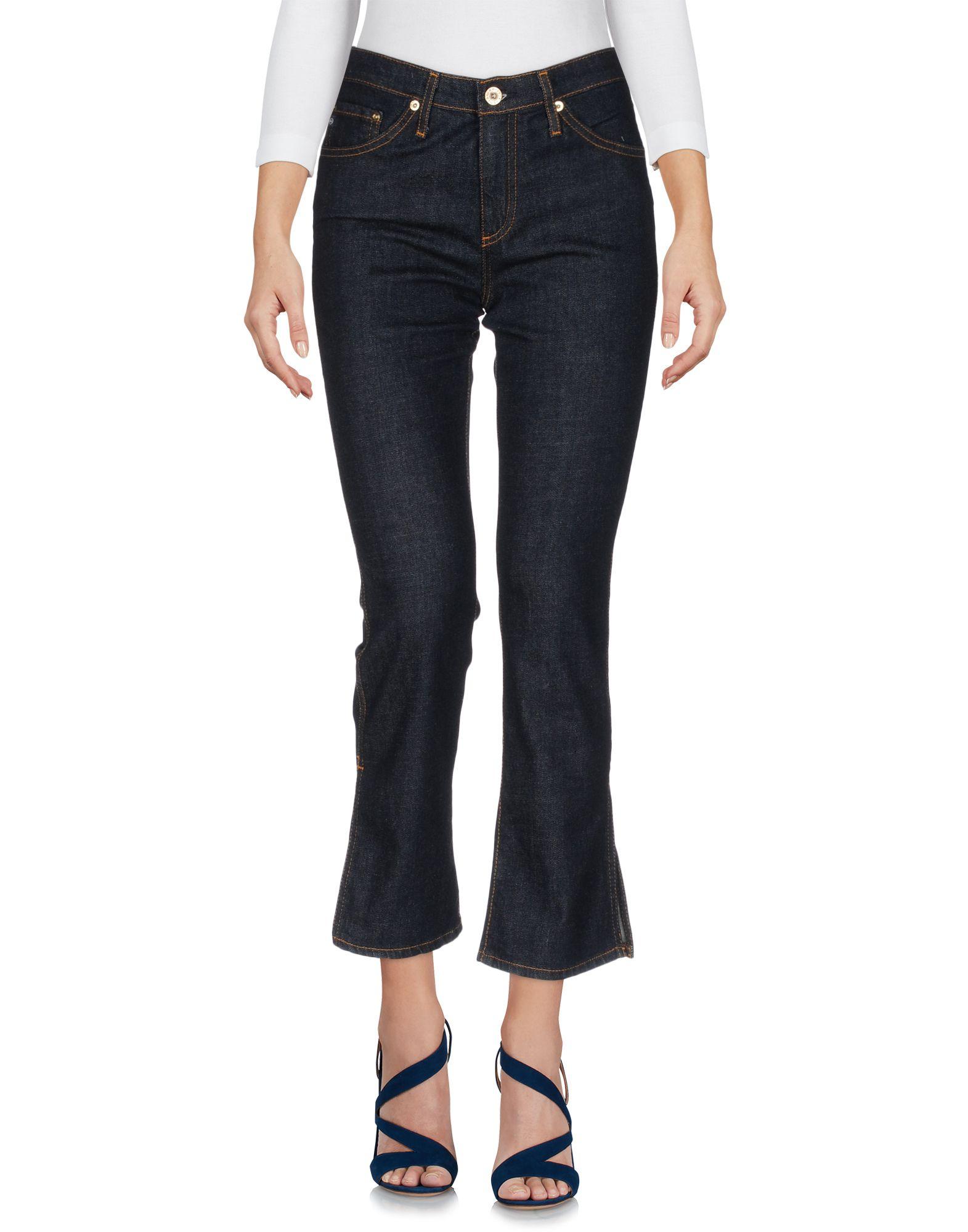 AG JEANS Джинсовые брюки-капри цена 2017