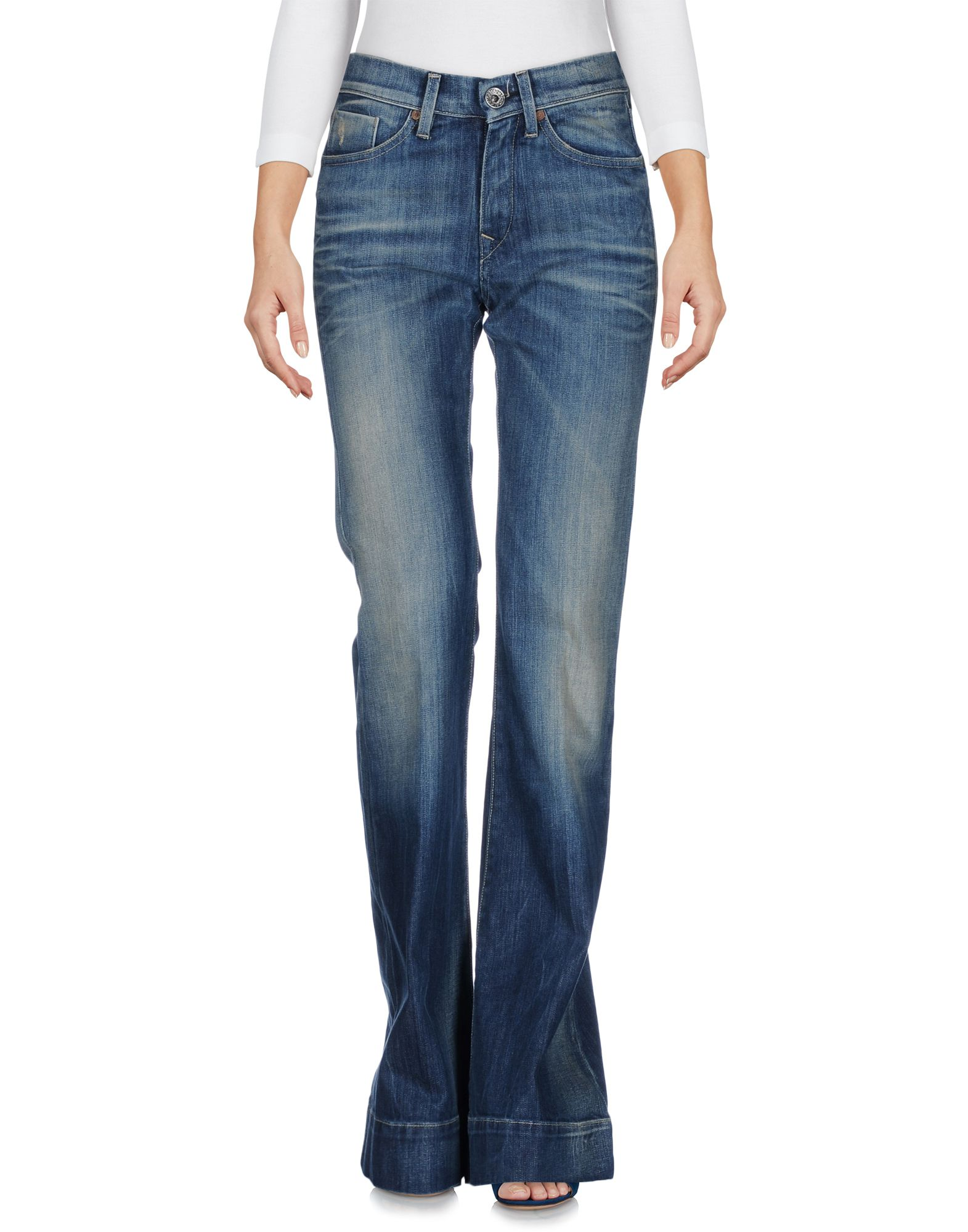 NOLITA DE NIMES Damen Jeanshose Farbe Blau Größe 3 - broschei