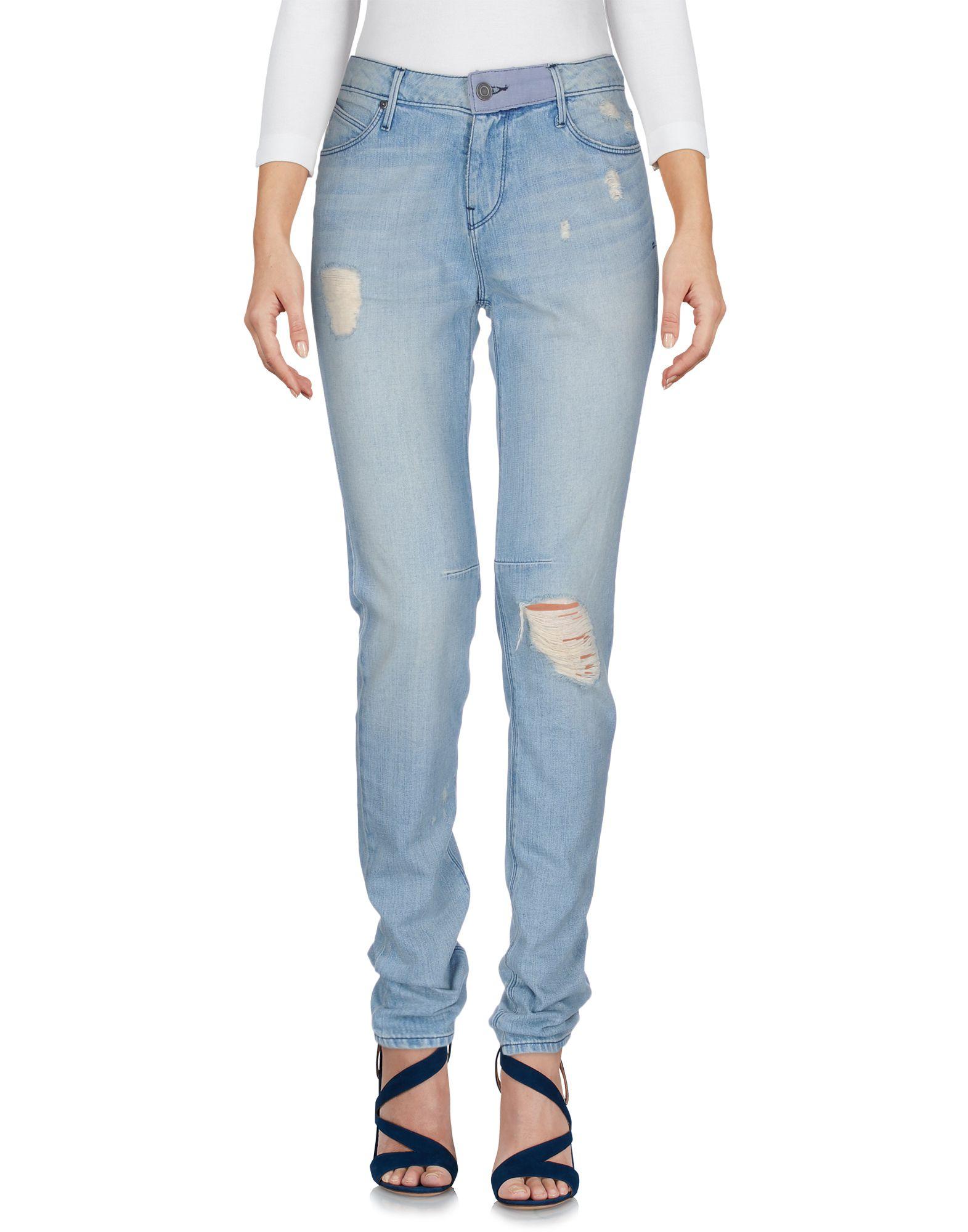 RTA Damen Jeanshose Farbe Blau Größe 4 - broschei