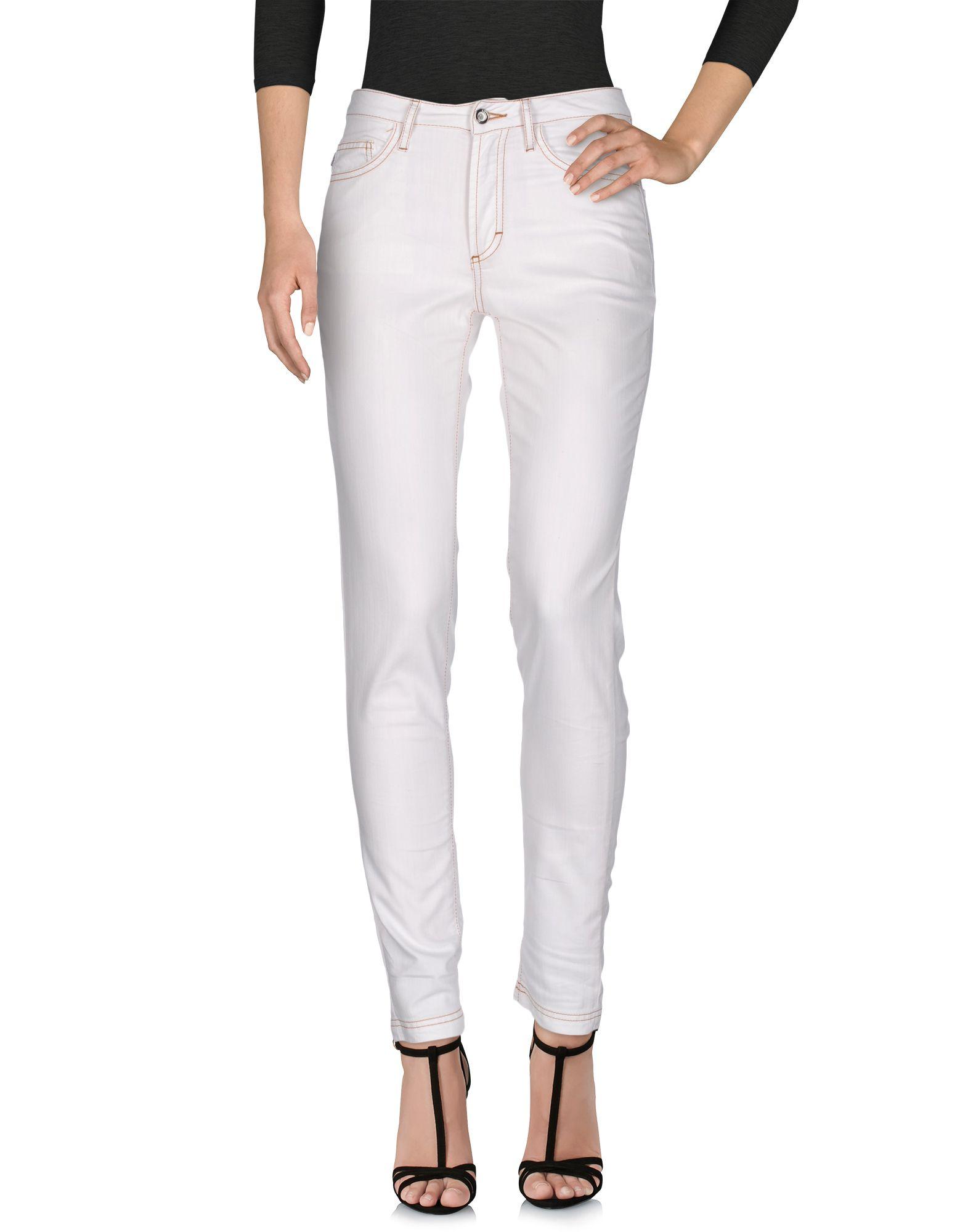 JUST CAVALLI Damen Jeanshose Farbe Weiß Größe 5