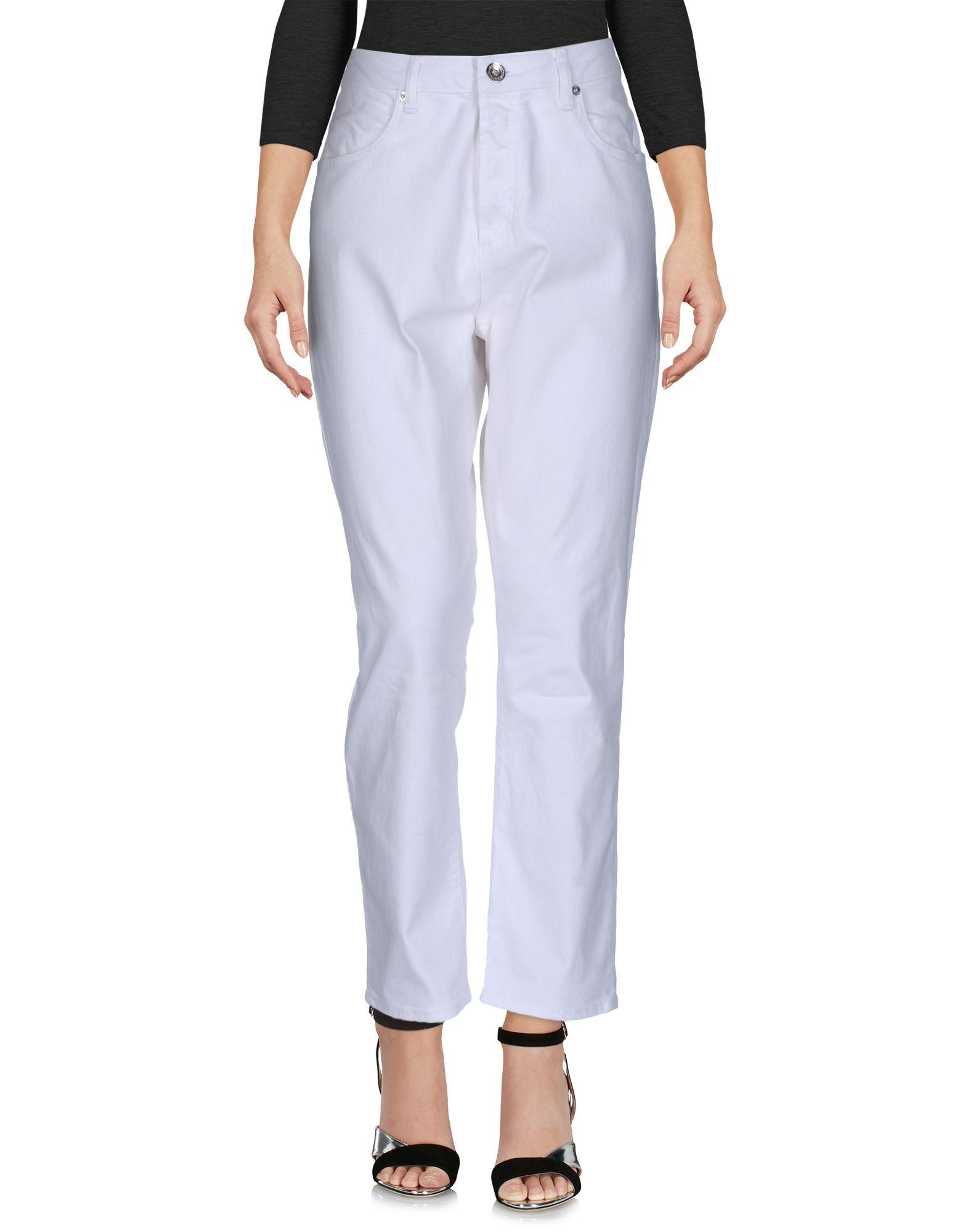 LOVE MOSCHINO Damen Jeanshose Farbe Weiß Größe 4