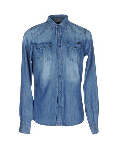 chemise en jean homme