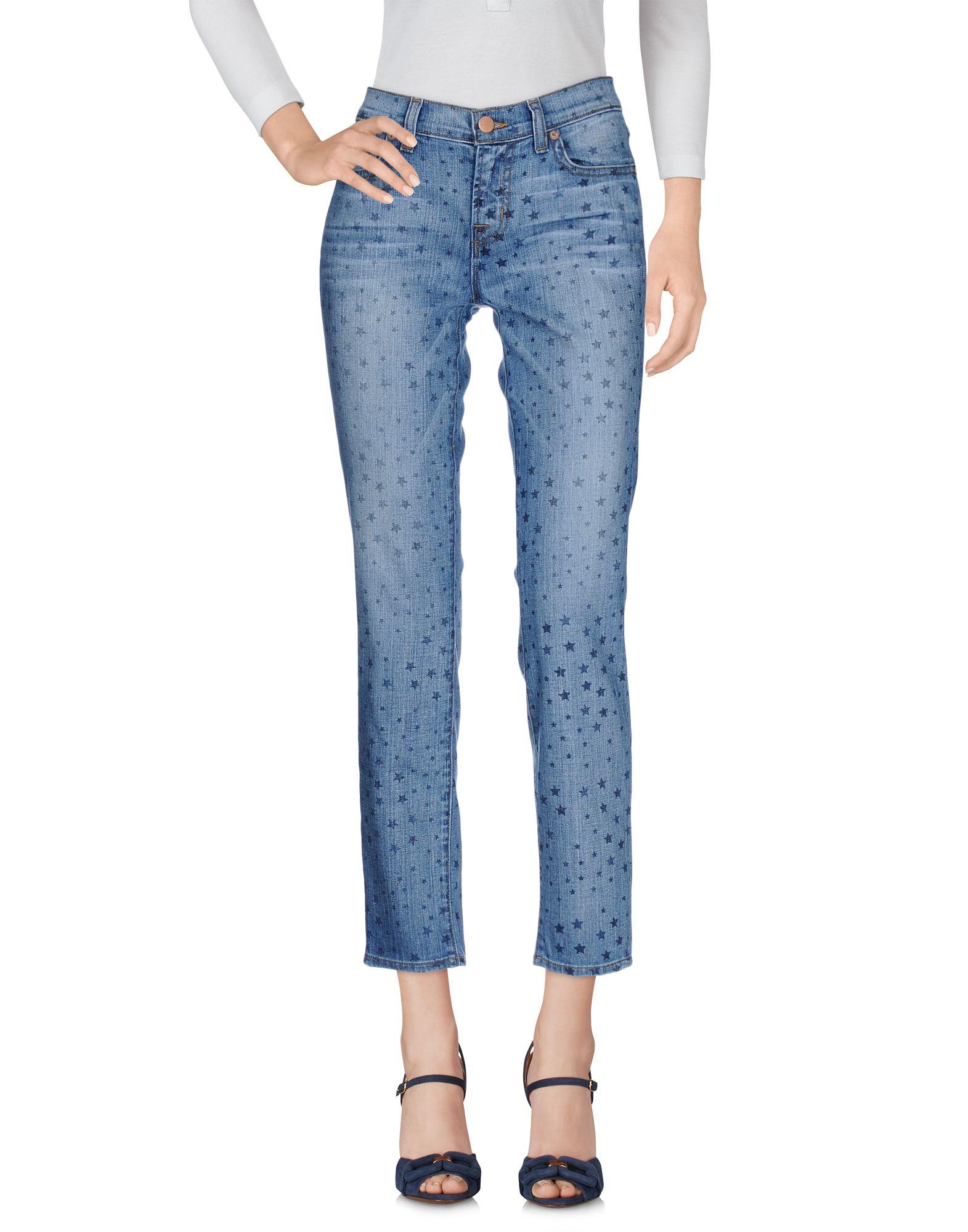 J BRAND Damen Jeanshose Farbe Blau Größe 2 - broschei