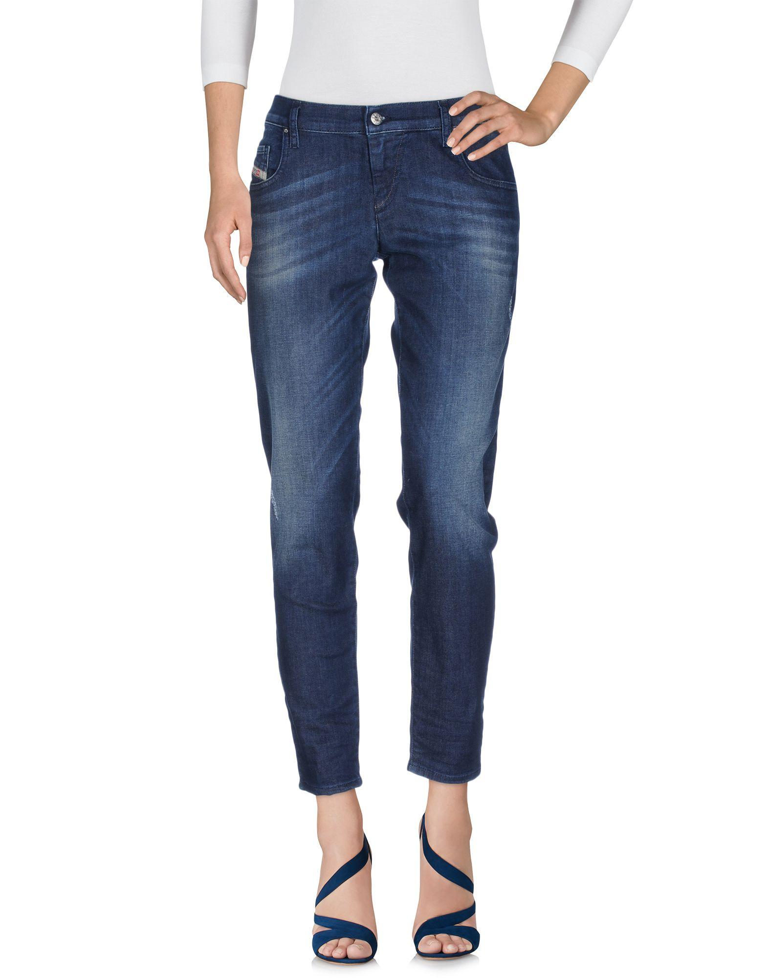 DIESEL Damen Jeanshose Farbe Blau Größe 8