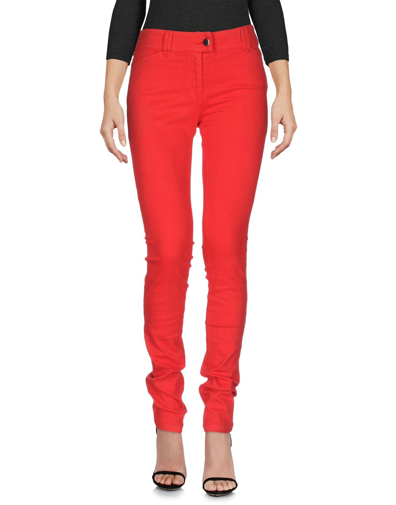 BALENCIAGA Damen Jeanshose Farbe Rot Größe 4