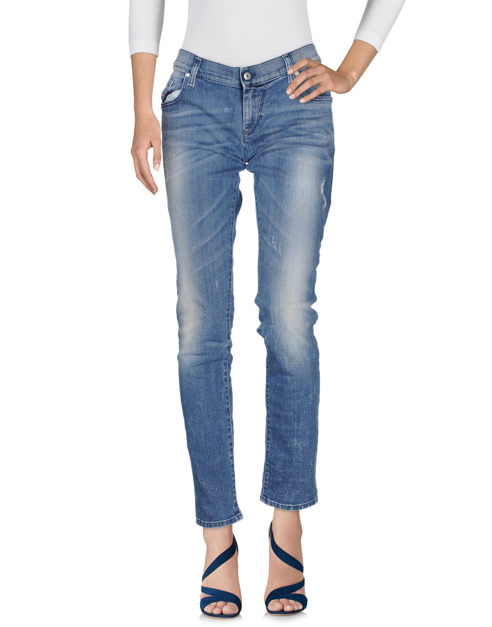 DIESEL Damen Jeanshose Farbe Blau Größe 9 - broschei