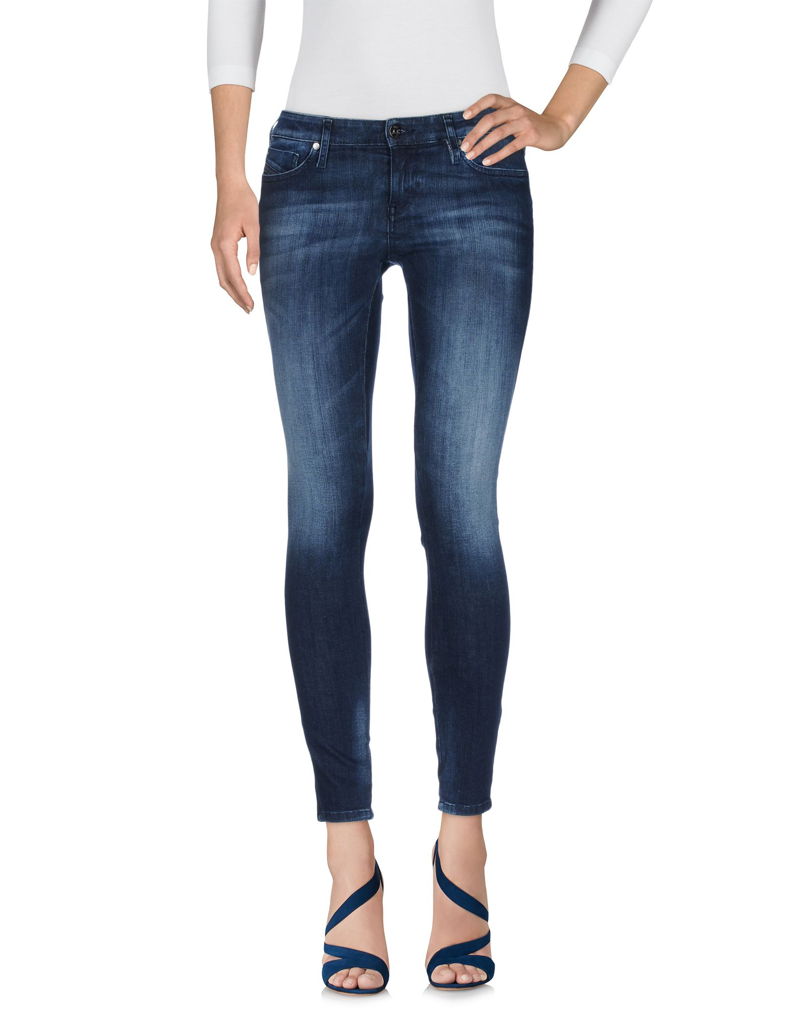 DIESEL Damen Jeanshose Farbe Blau Größe 9