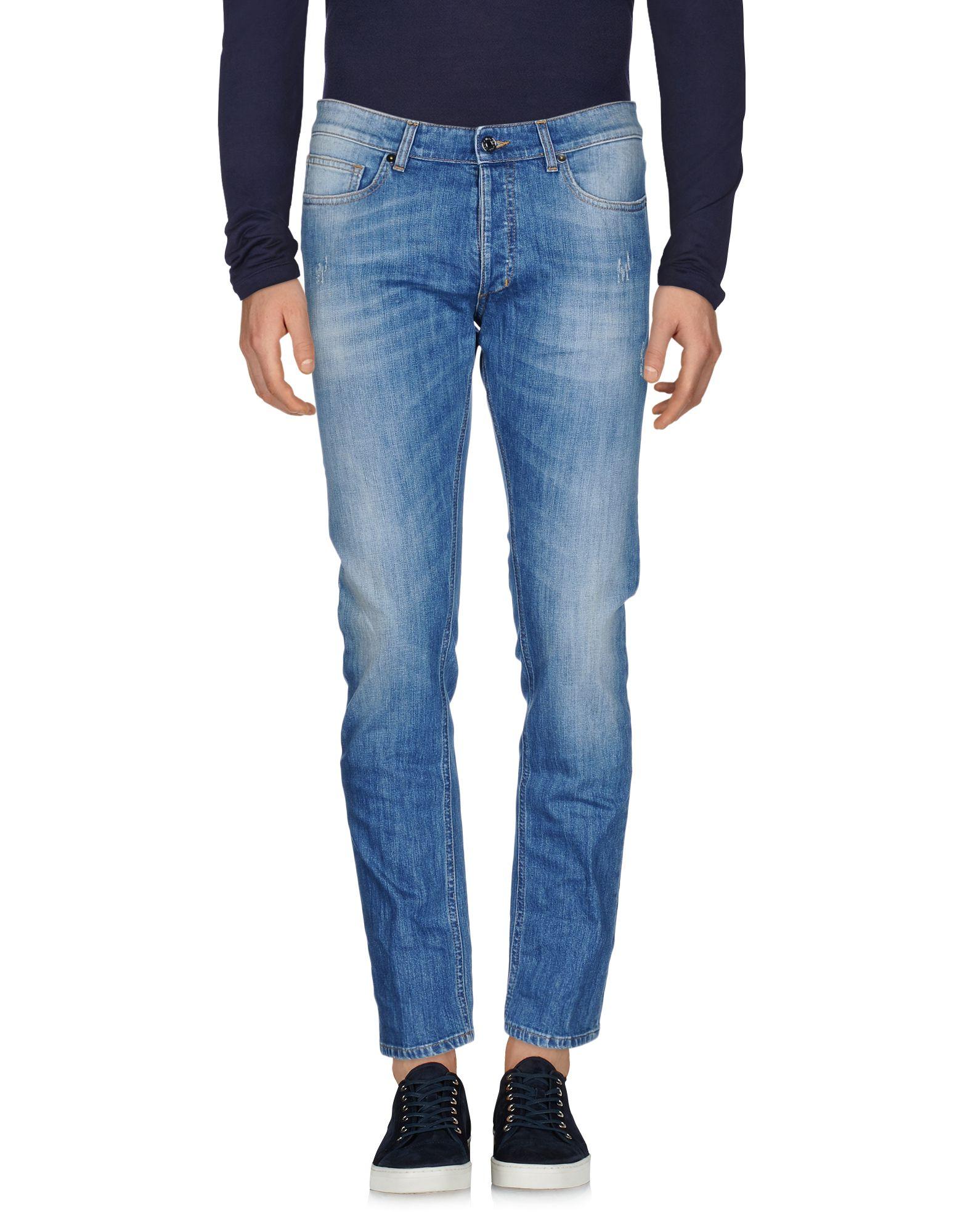 MAURO GRIFONI Herren Jeanshose Farbe Blau Größe 7