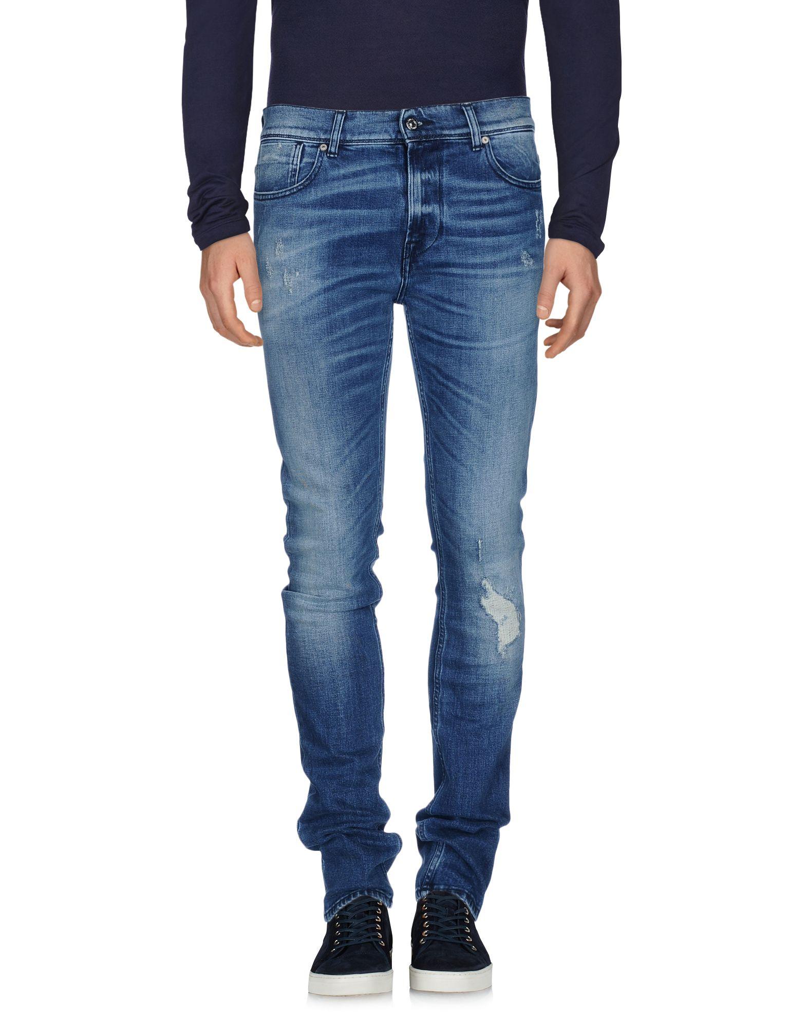 7 FOR ALL MANKIND Herren Jeanshose Farbe Blau Größe 6