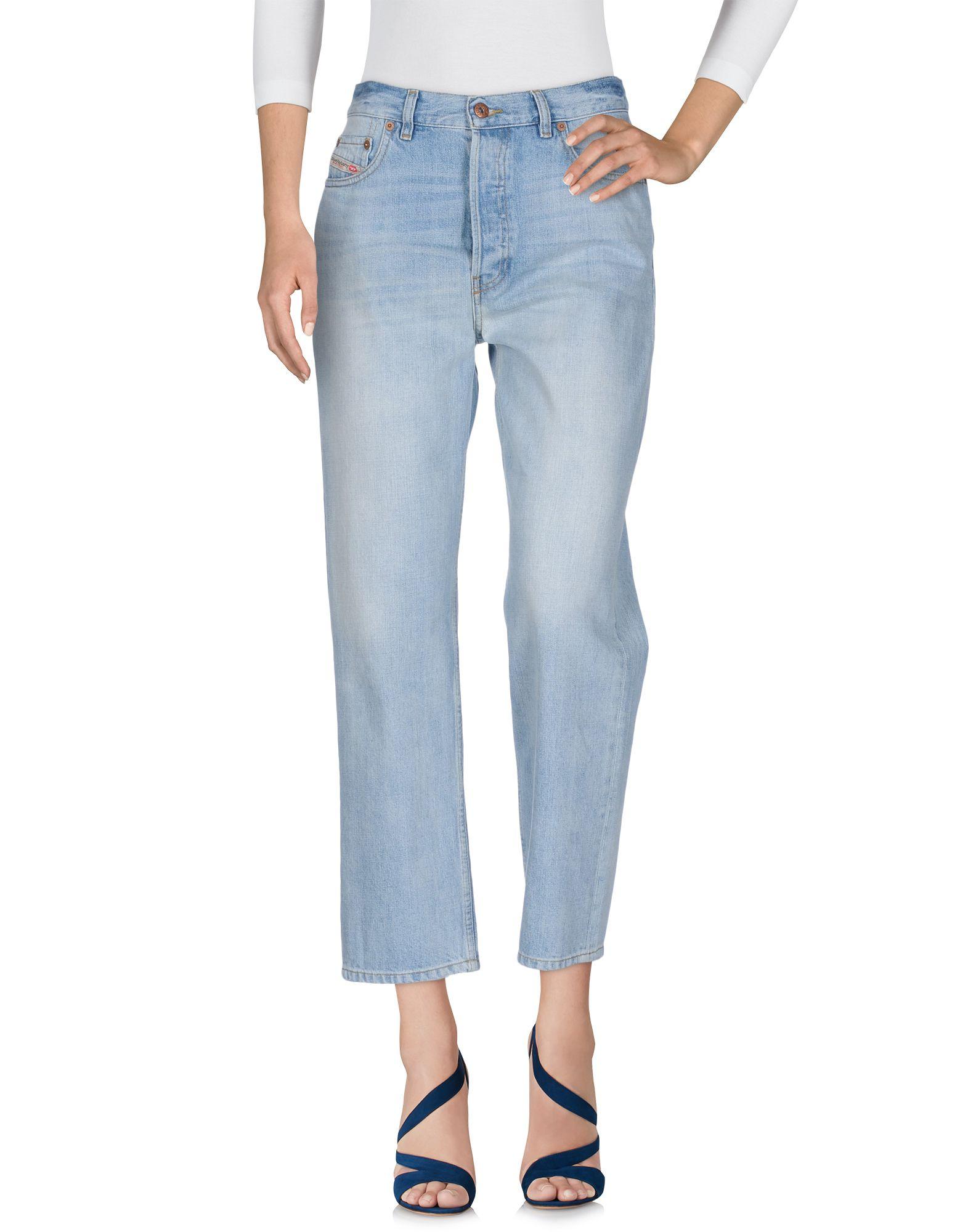 DIESEL Damen Jeanshose Farbe Blau Größe 6 - broschei