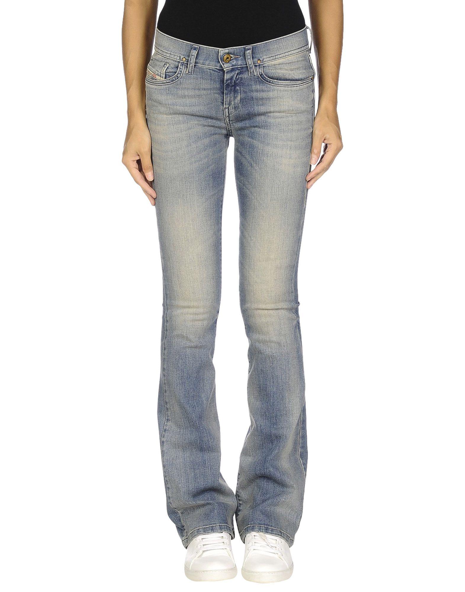 DIESEL Damen Jeanshose Farbe Blau Größe 4