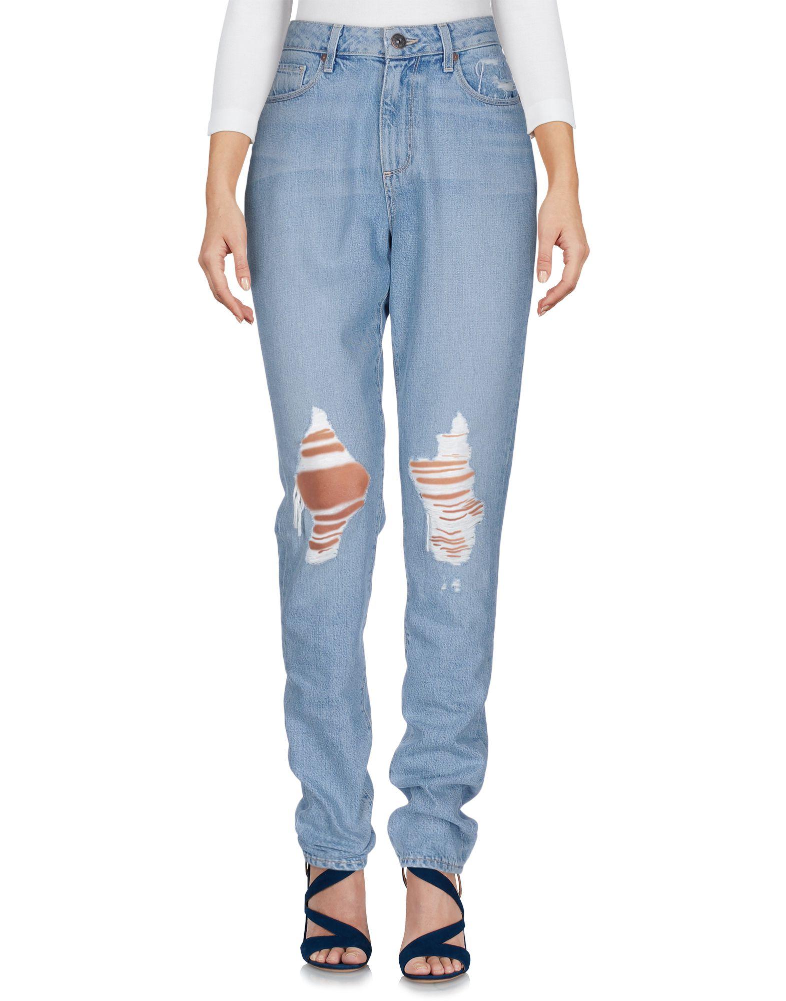 PAIGE Damen Jeanshose Farbe Blau Größe 8 jetztbilligerkaufen
