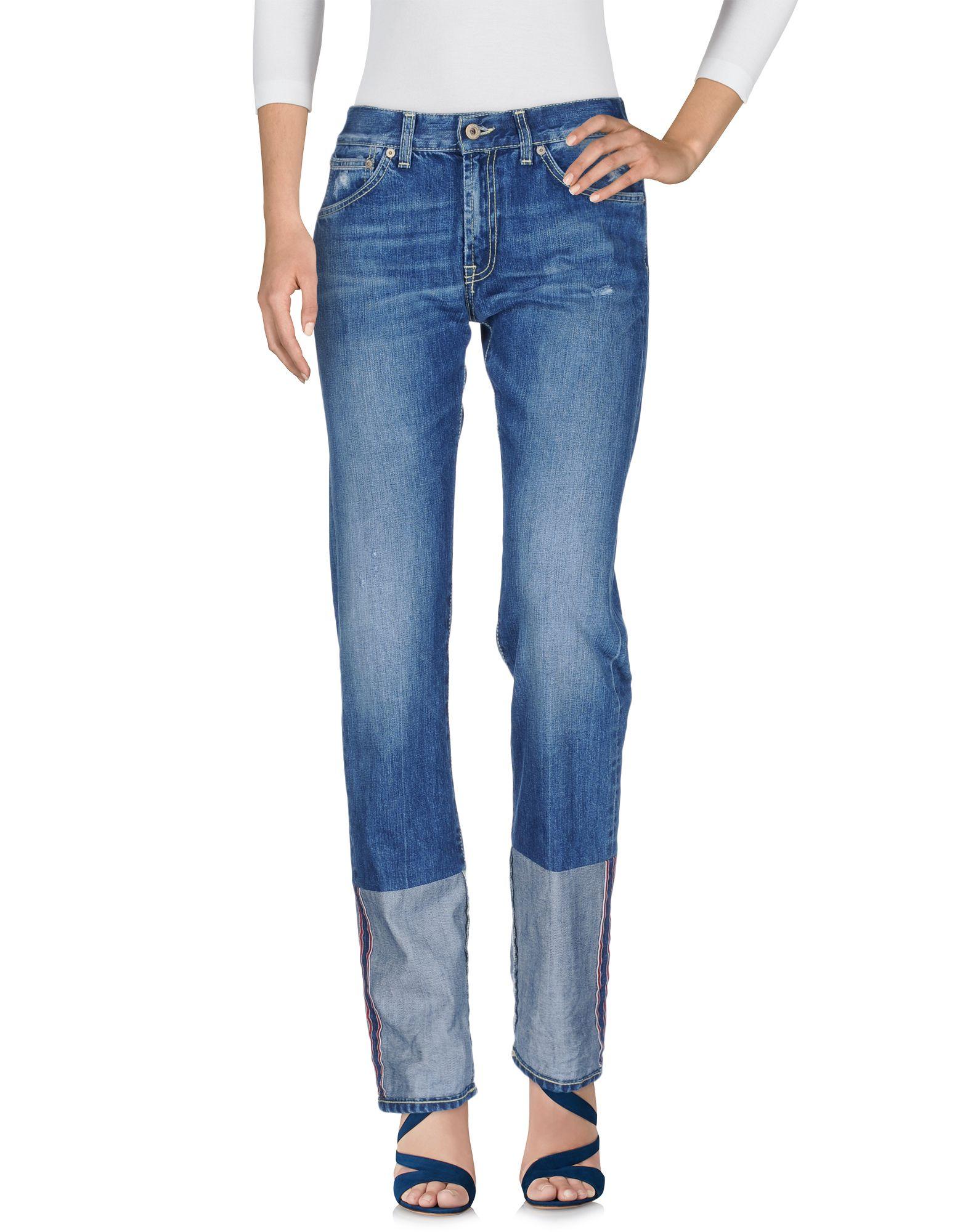 DONDUP Damen Jeanshose Farbe Blau Größe 5 - broschei