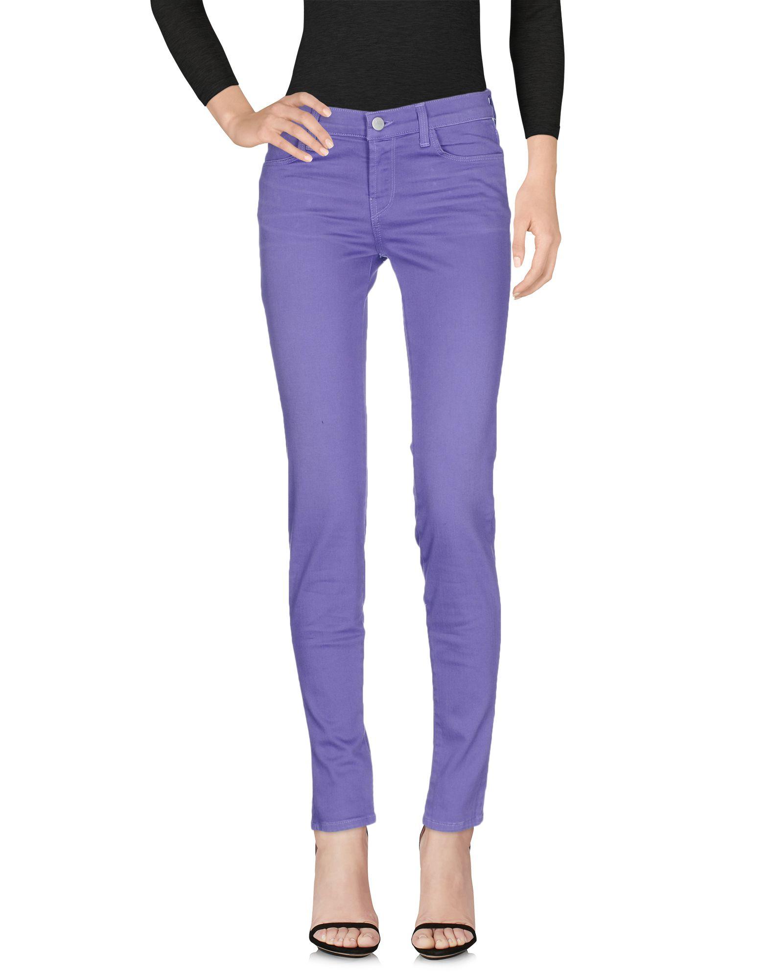 J BRAND Damen Jeanshose Farbe Violett Größe 2