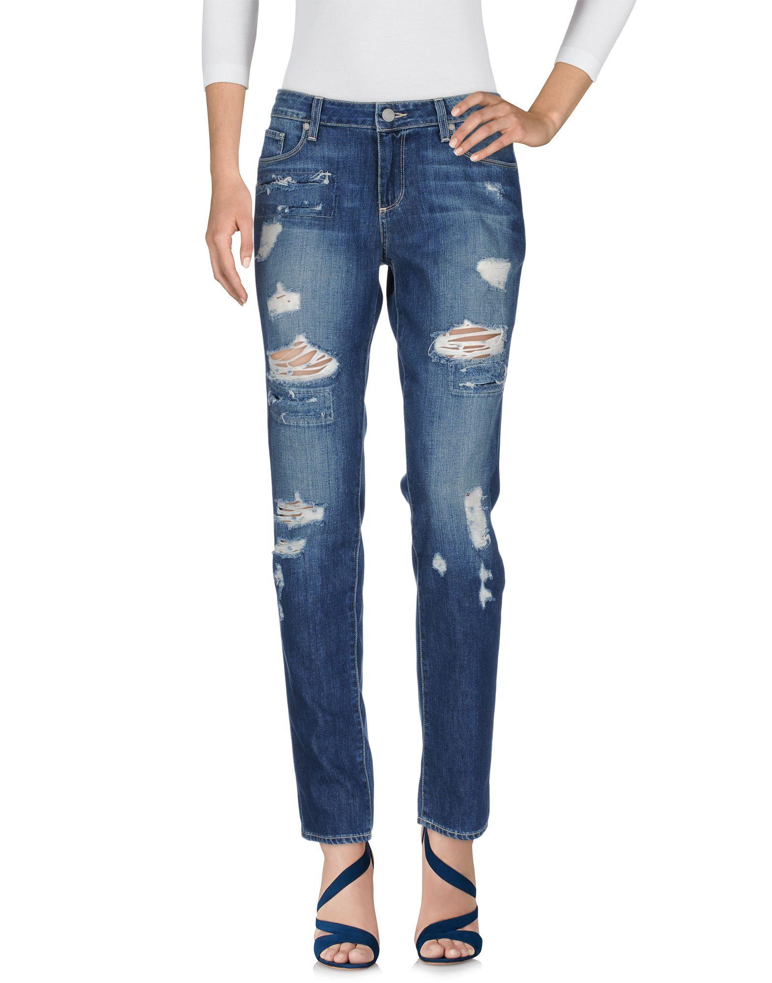 PAIGE Damen Jeanshose Farbe Blau Größe 7