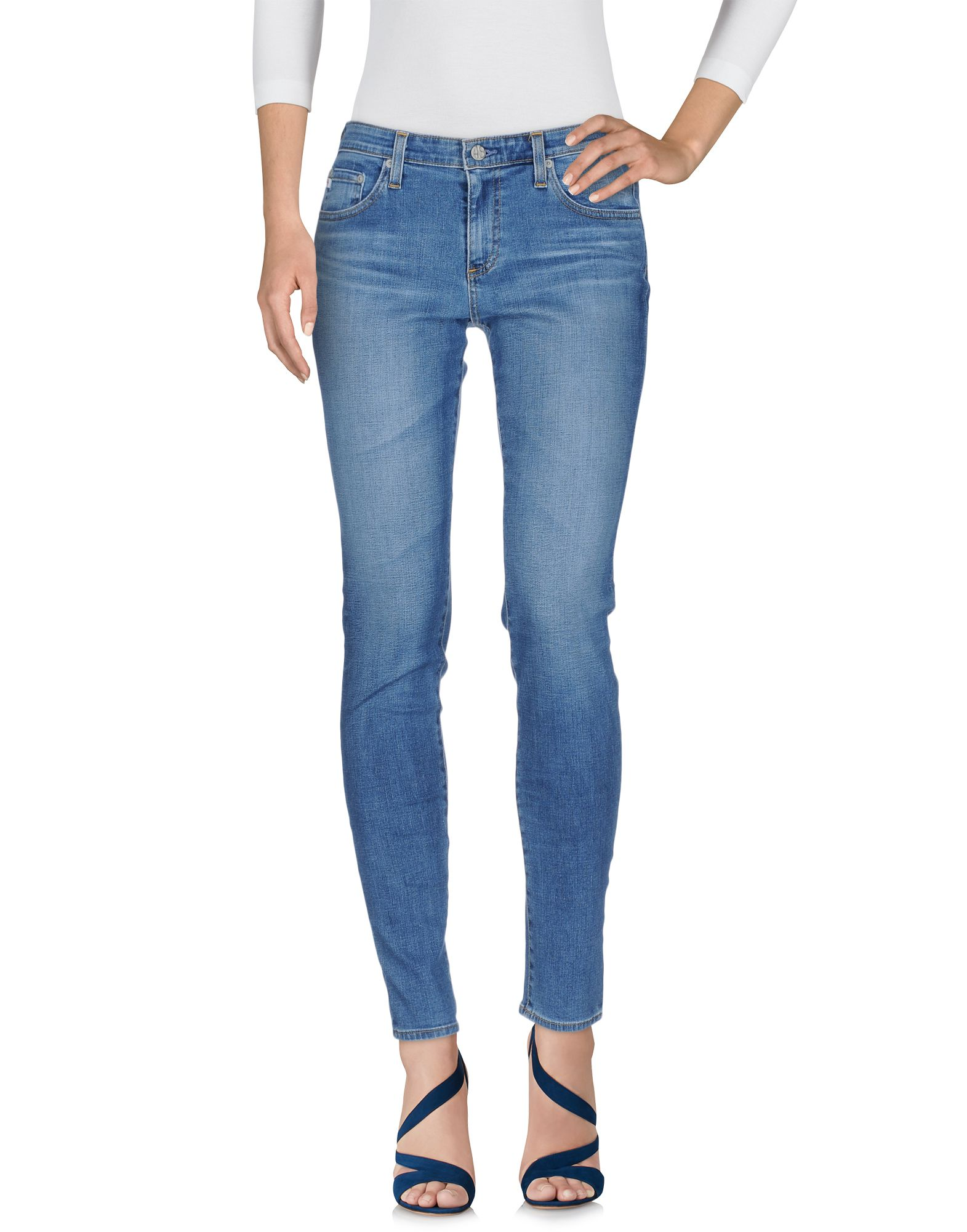 AG ADRIANO GOLDSCHMIED Damen Jeanshose Farbe Blau Größe 7 - broschei