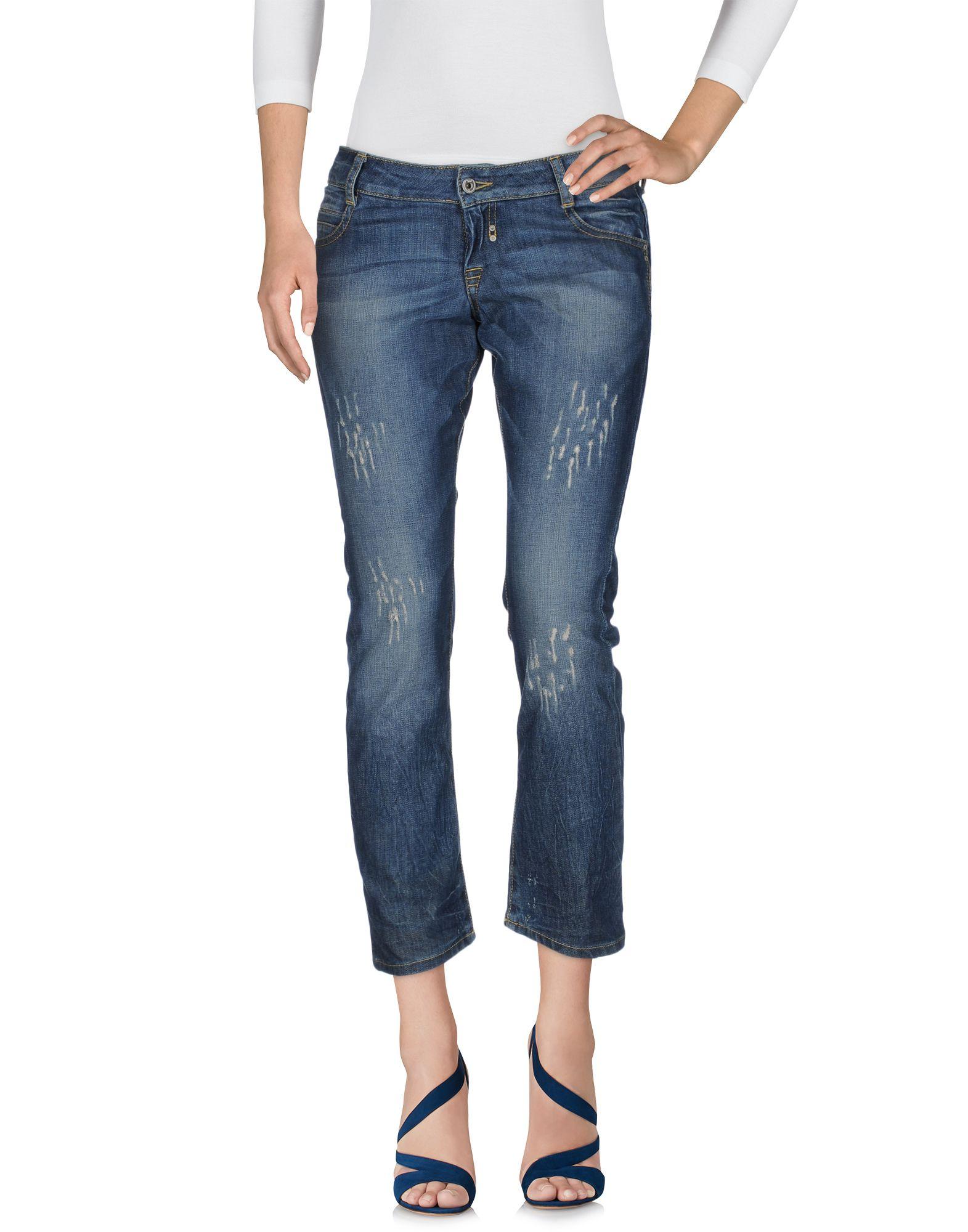 цена LOIZA by PATRIZIA PEPE Джинсовые брюки онлайн в 2017 году